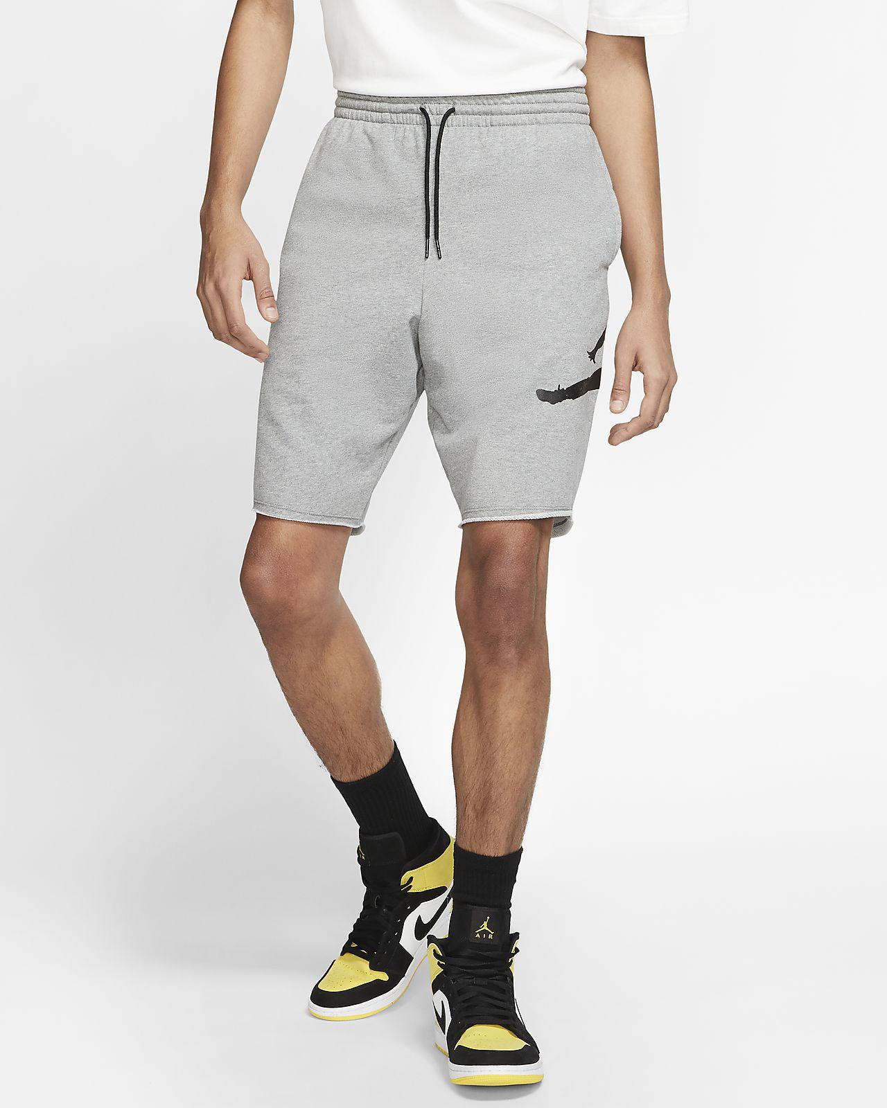 Short en tissu Fleece Jordan Jumpman Logo pour Homme