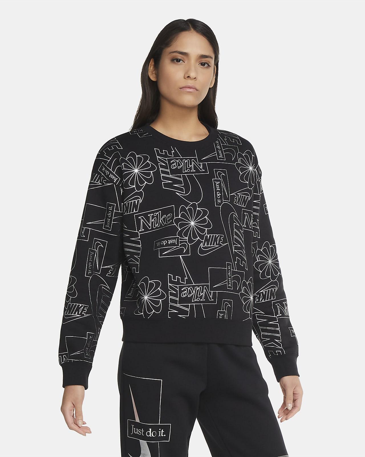 Женский флисовый свитшот Nike Sportswear Icon Clash