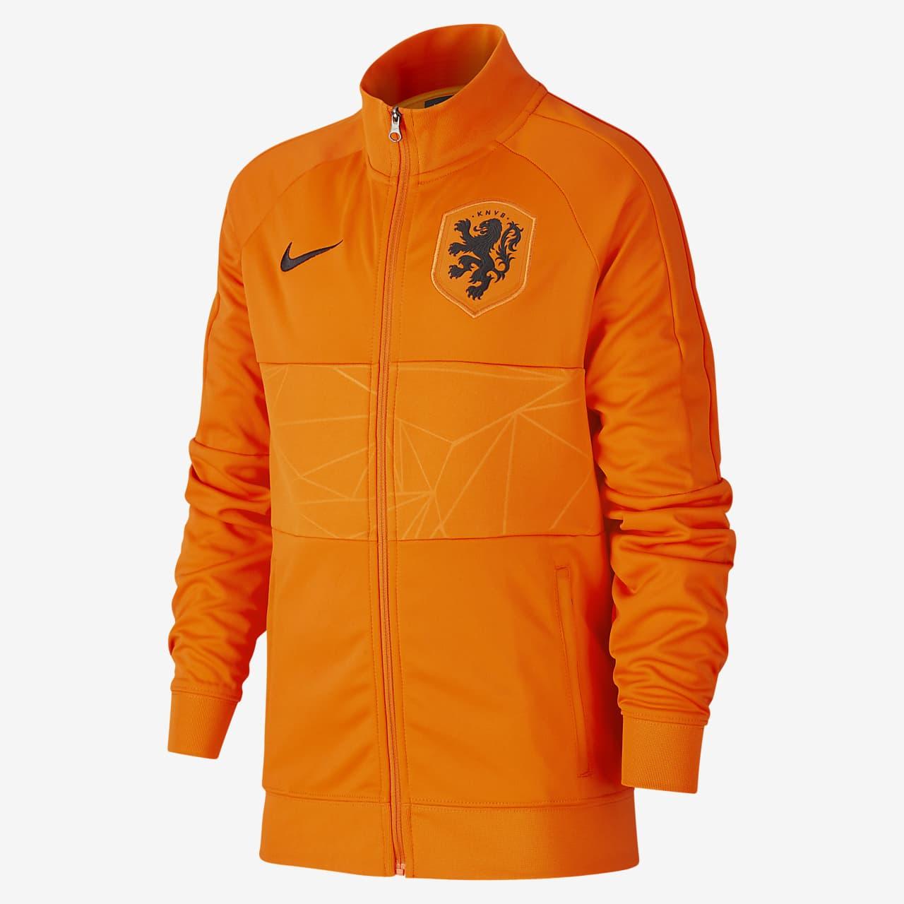 Netherlands Older Kids' Football Jacket