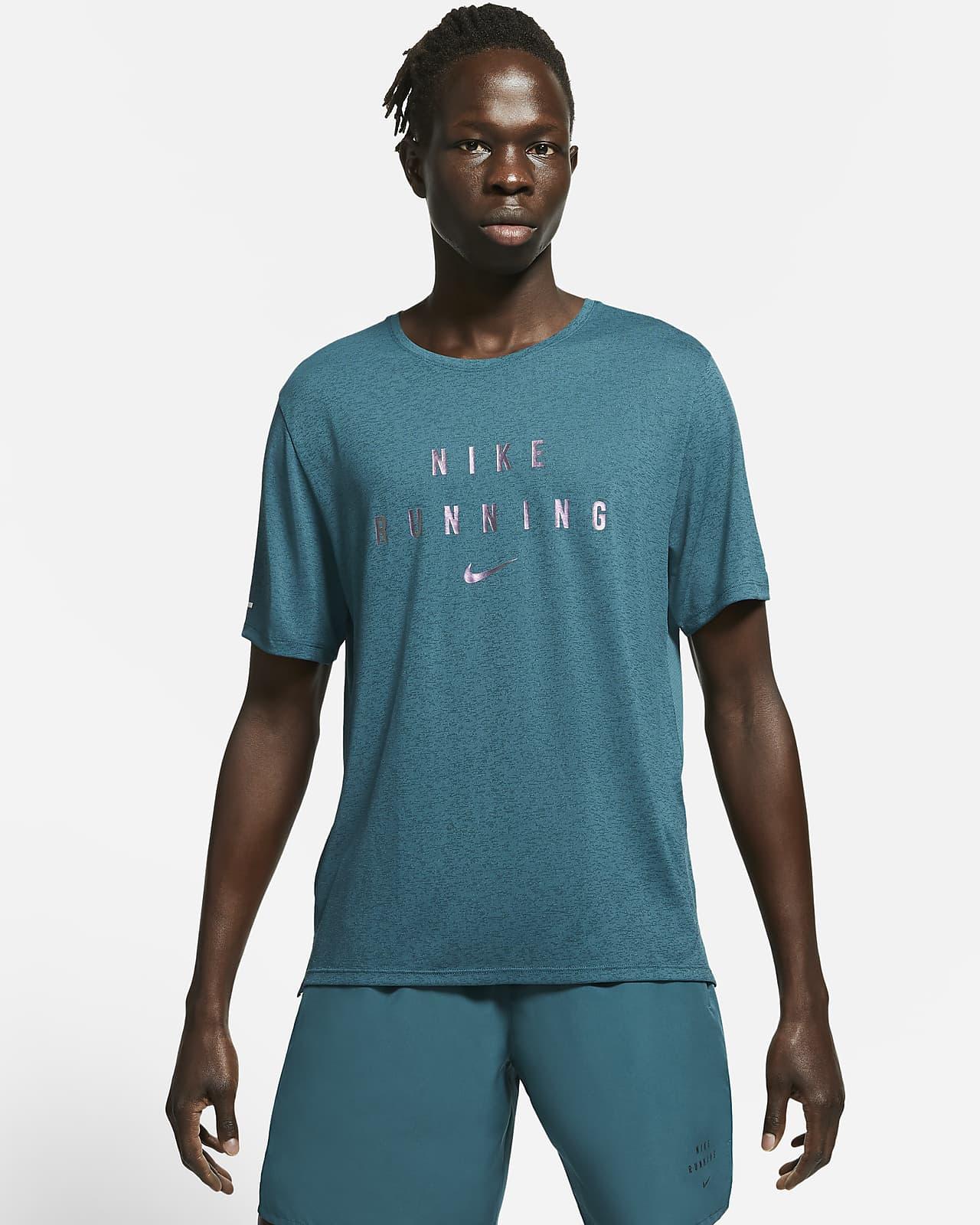Camiseta de running para hombre Nike Dri-FIT Miler Run Division