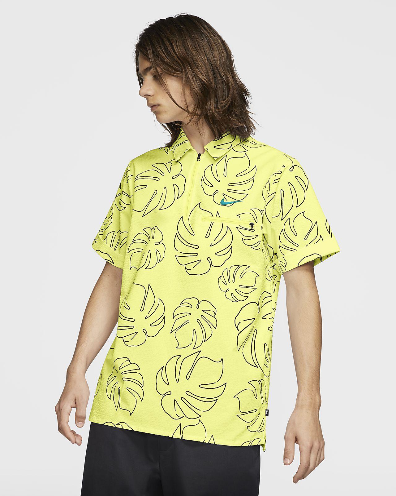 Męska tkana koszulka polo do skateboardingu Nike SB