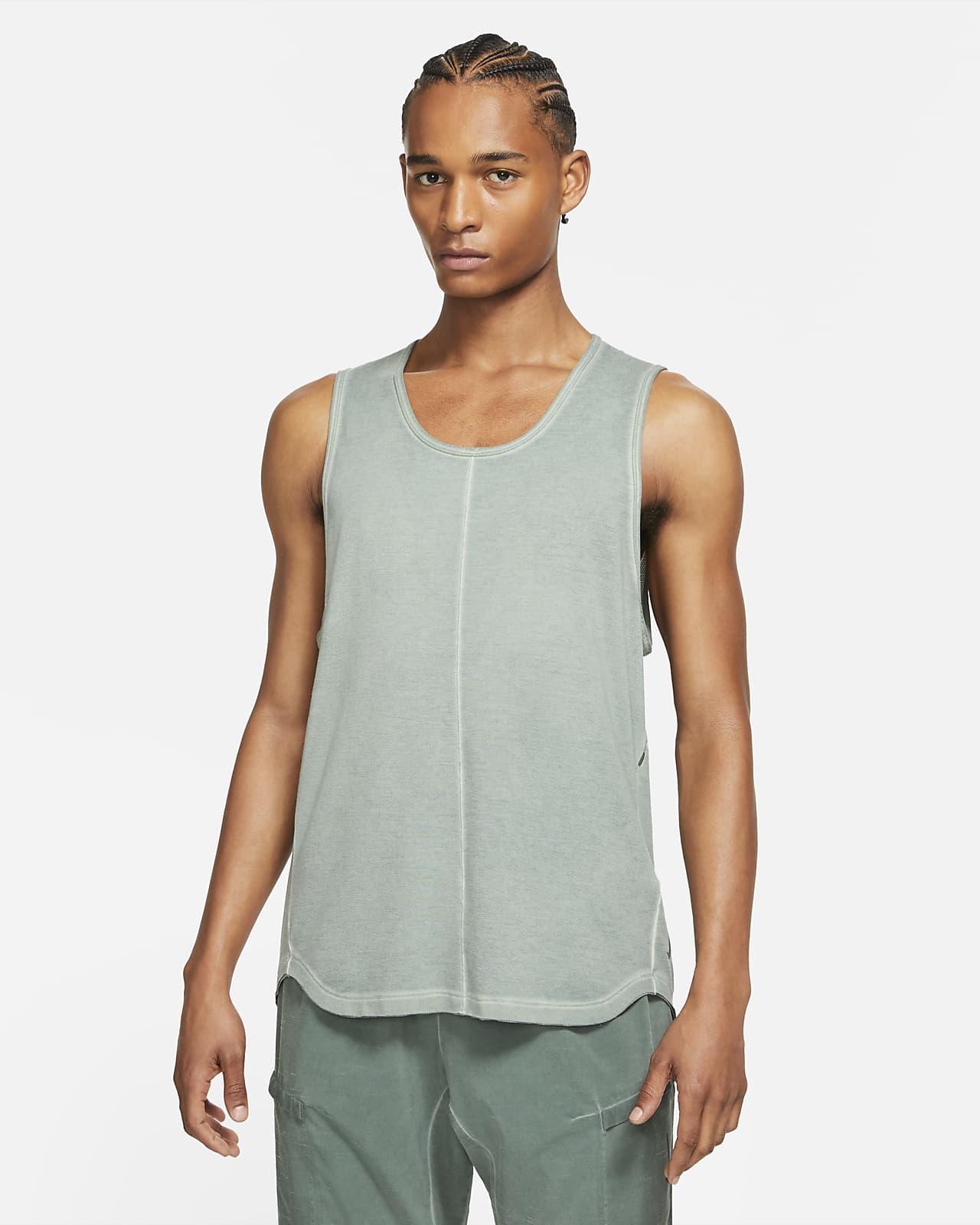 Camiseta de tirantes para hombre Nike Yoga Dri-FIT