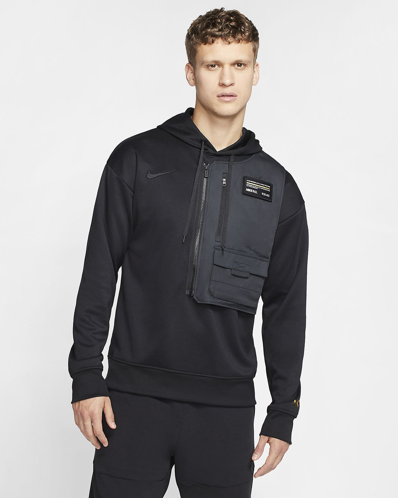Sweat à capuche de football Nike Dri-FIT Bondy pour Homme