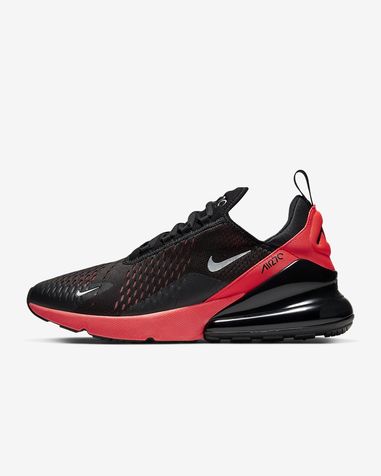 nike air max 270 noire bright crimson junior