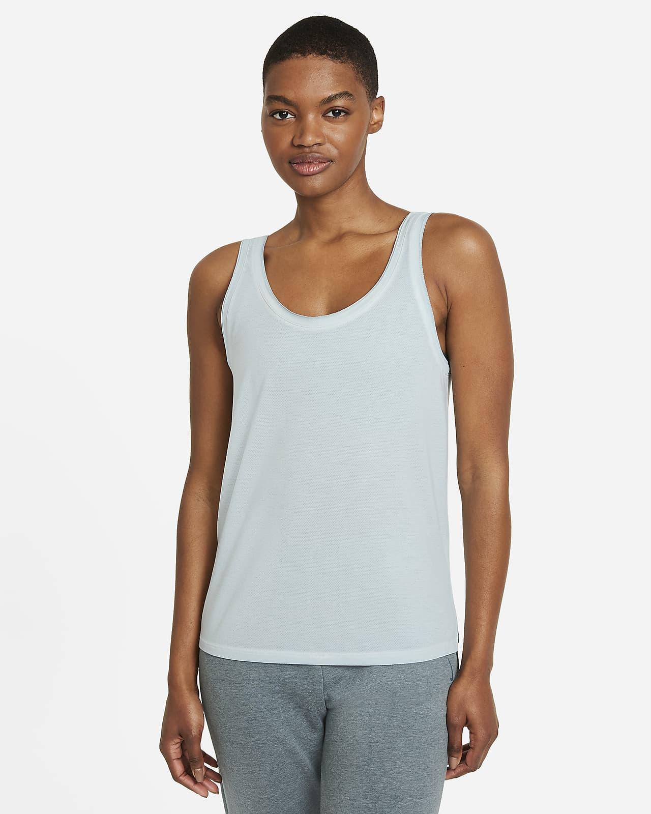 Débardeur Nike Yoga Dri-FIT pour Femme