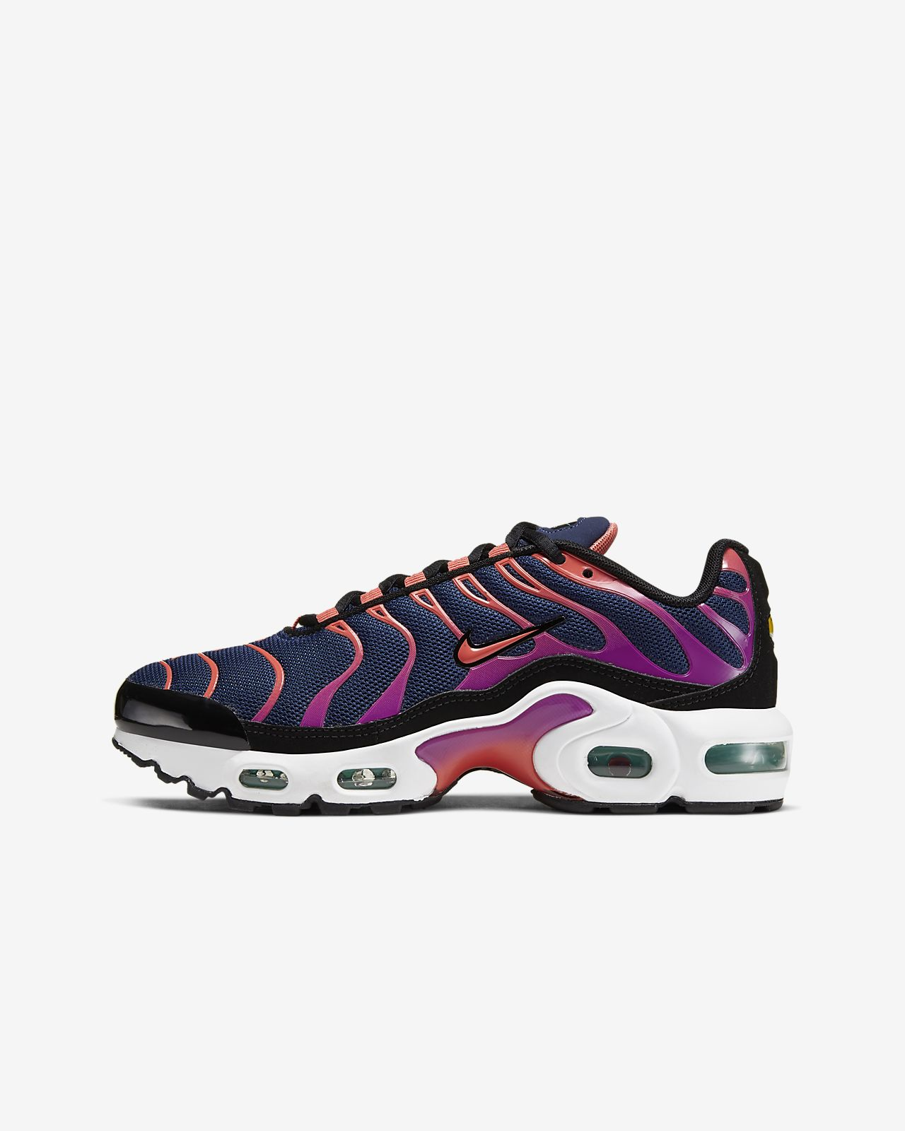 nike air max plus niño blancas