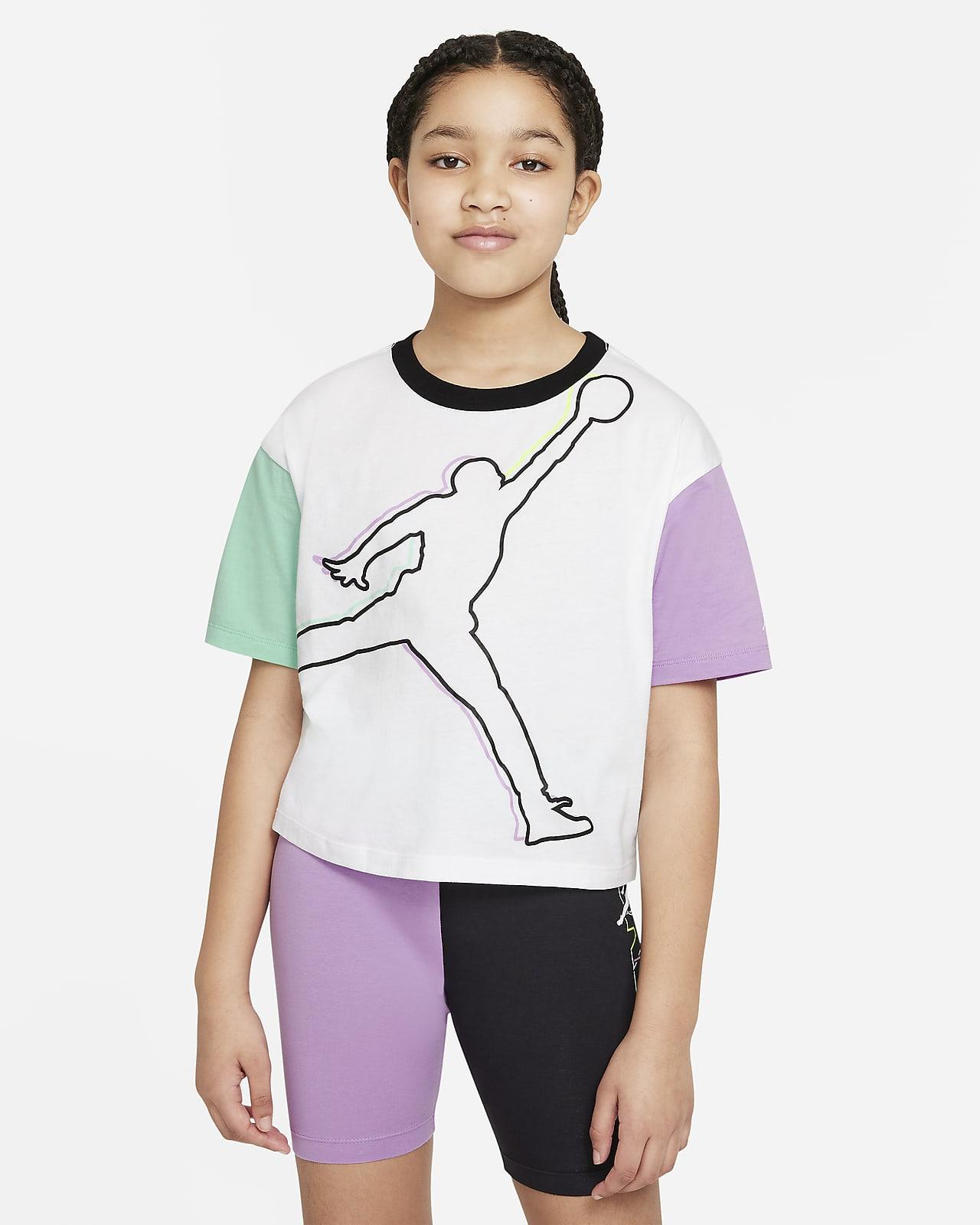 Jordan Big Kids' (Girls') T-Shirt