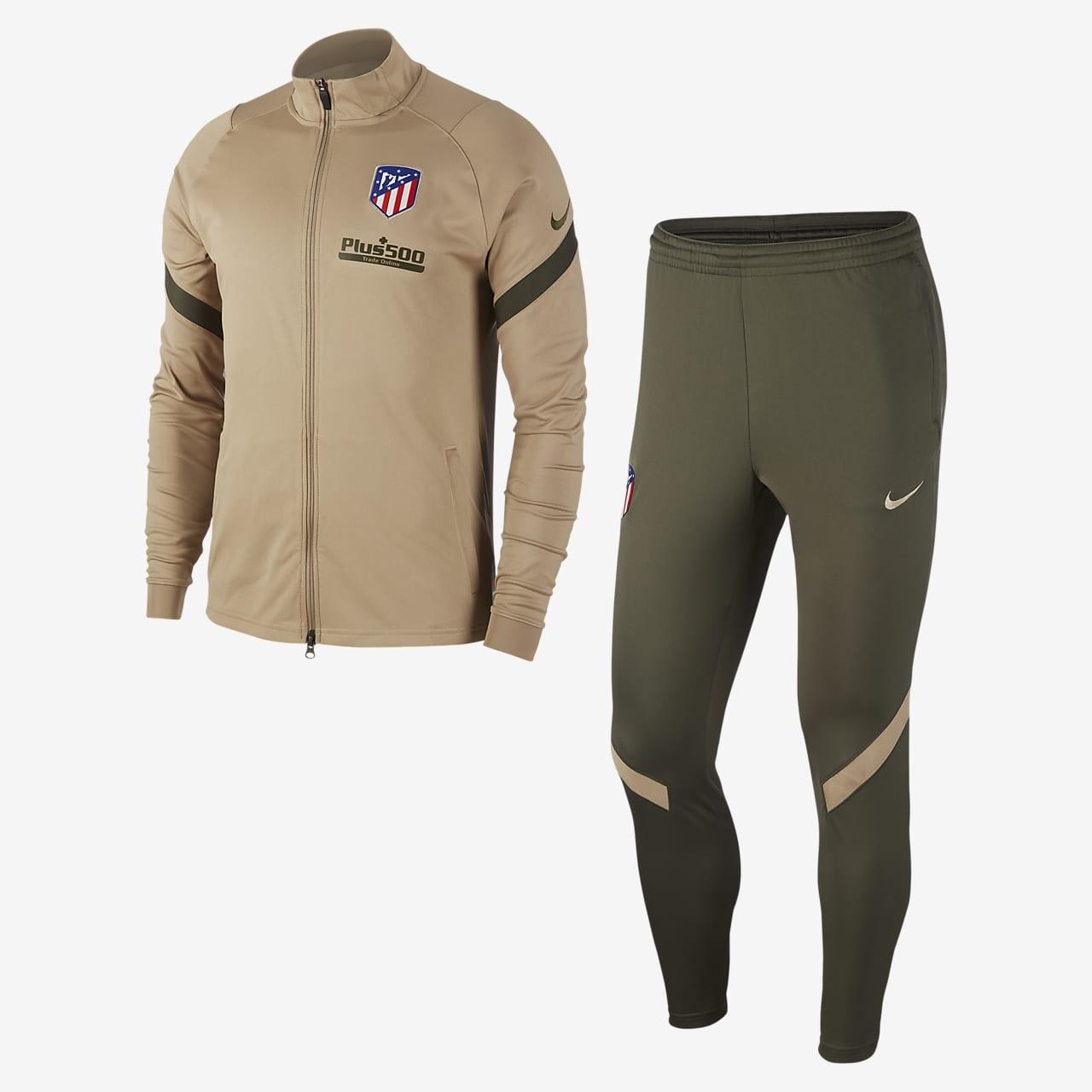 Atlético de Madrid Strike Men's Knit Football Tracksuit