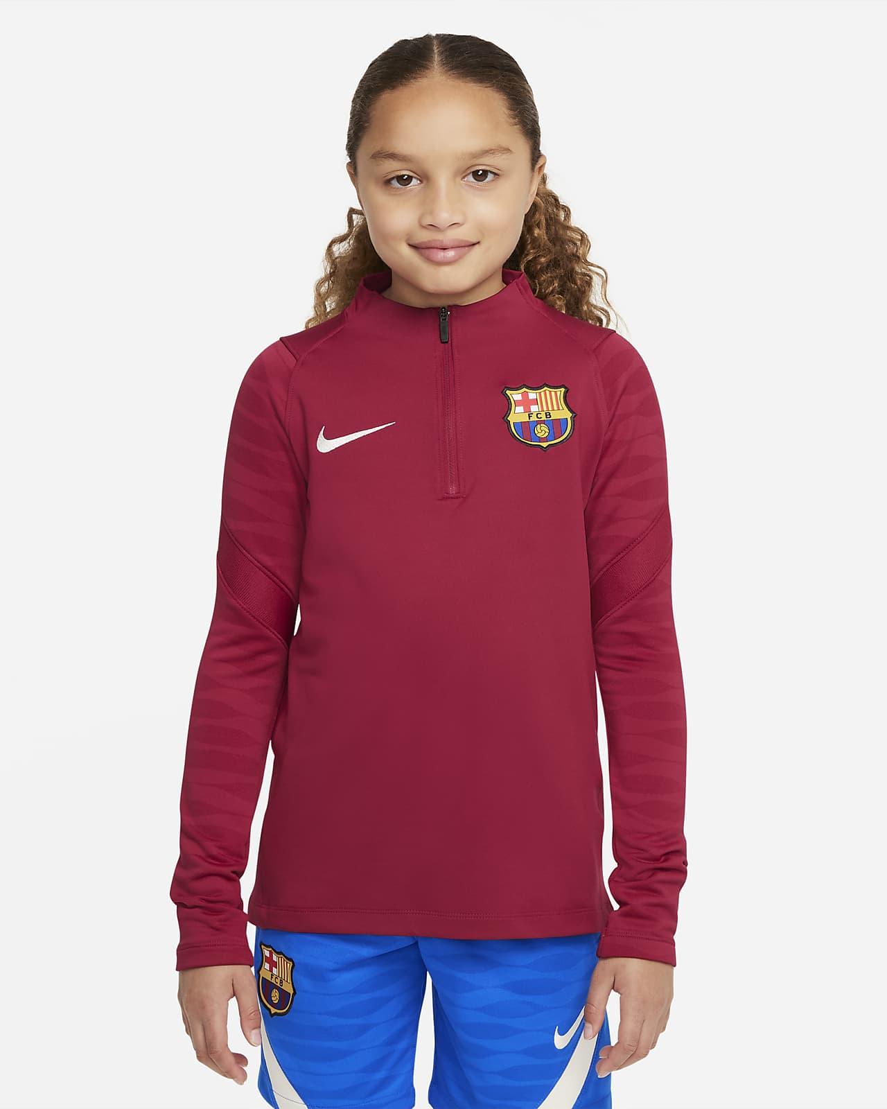FC Barcelona Strike Genç Çocuk Futbol Antrenman Üstü