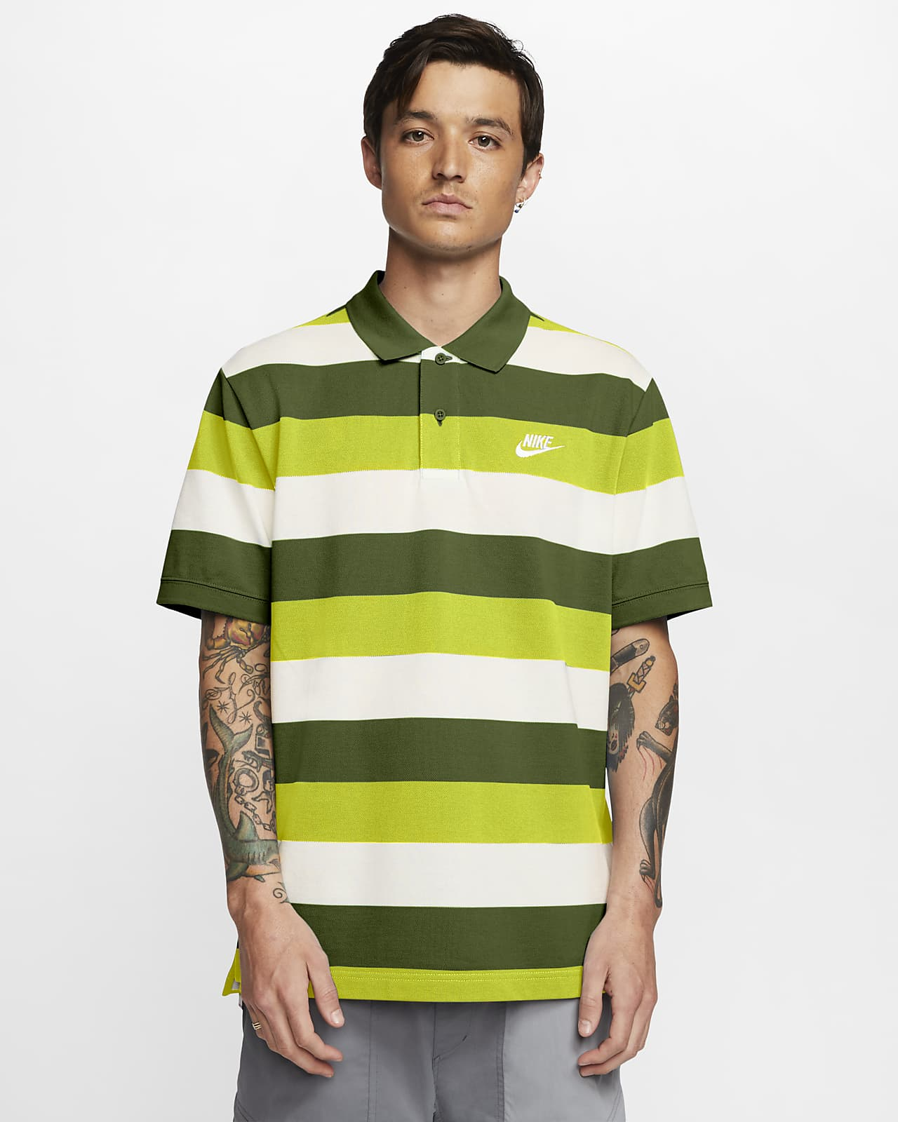 Polo à rayures Nike Sportswear pour Homme