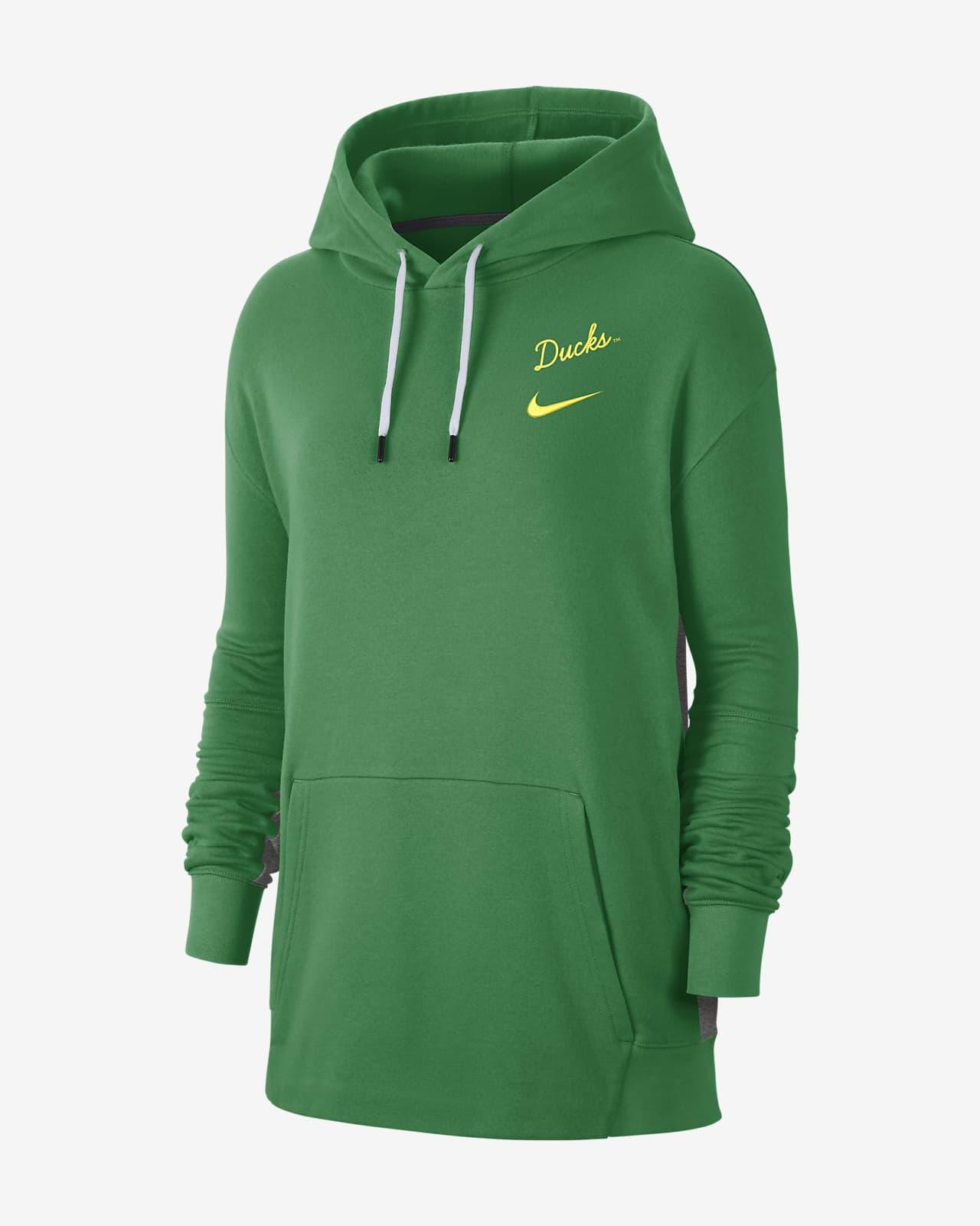 Nike College (Oregon) Women's Fleece Pullover Hoodie