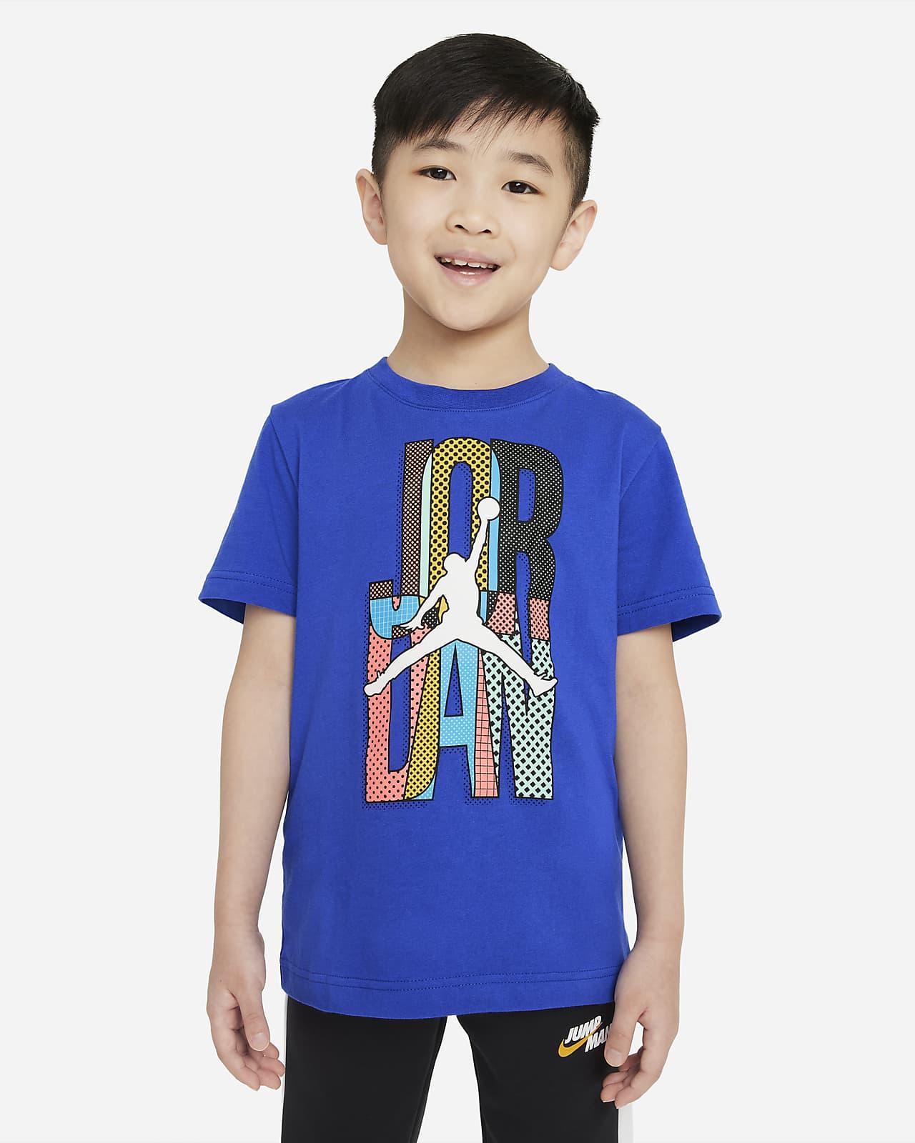 Playera para niños talla pequeña Jordan
