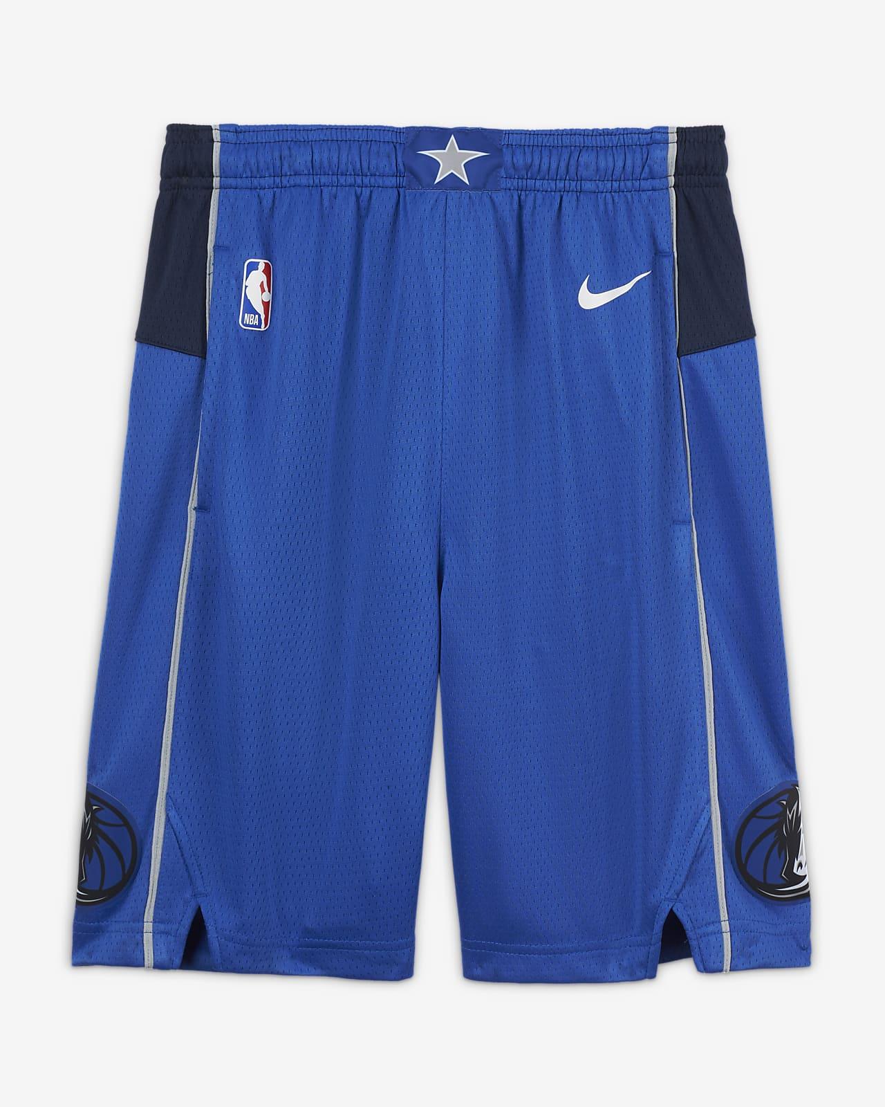 Spodenki dla dużych dzieci Nike NBA Swingman Dallas Mavericks Icon Edition