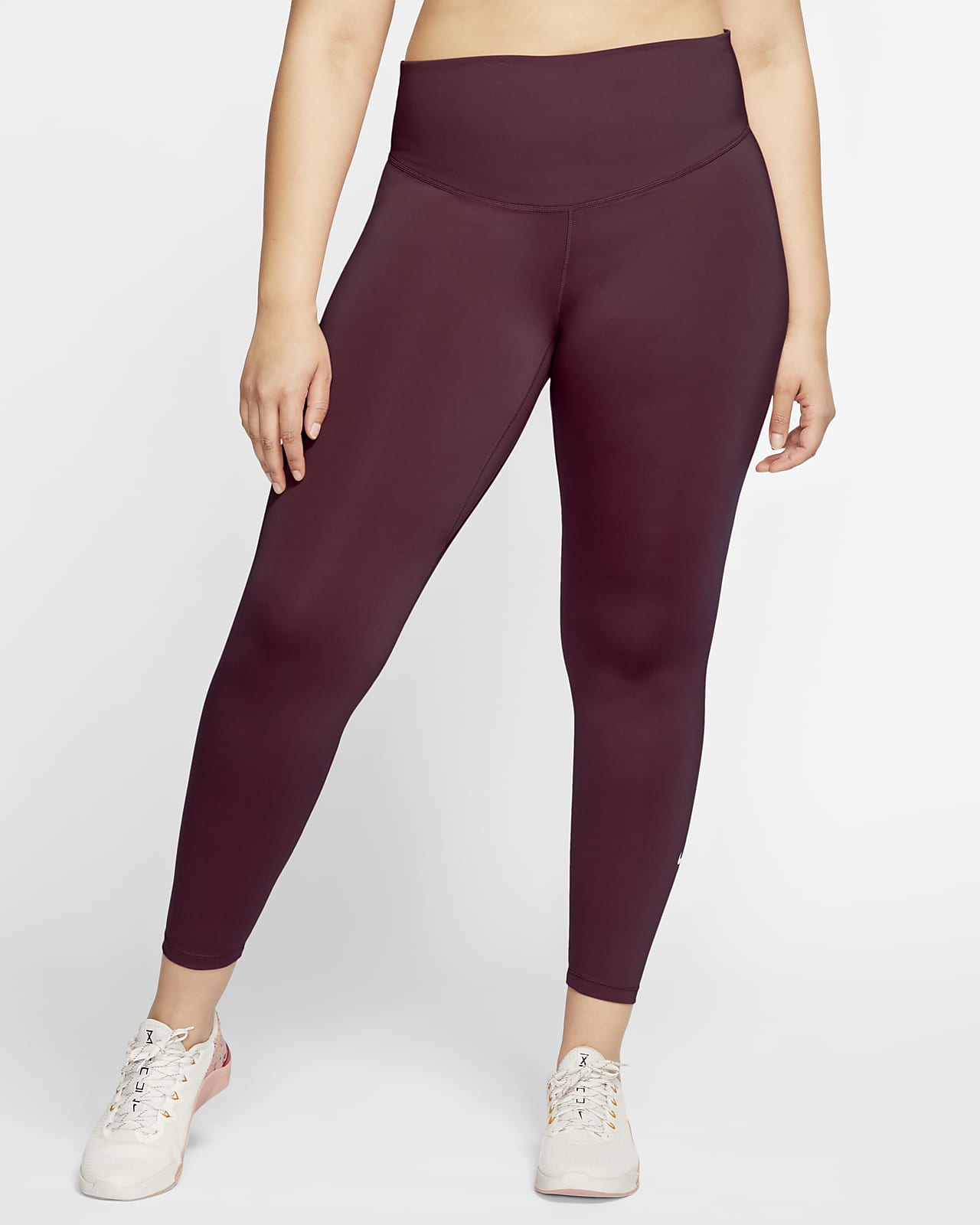 Nike One-tights til kvinder (Plus size)
