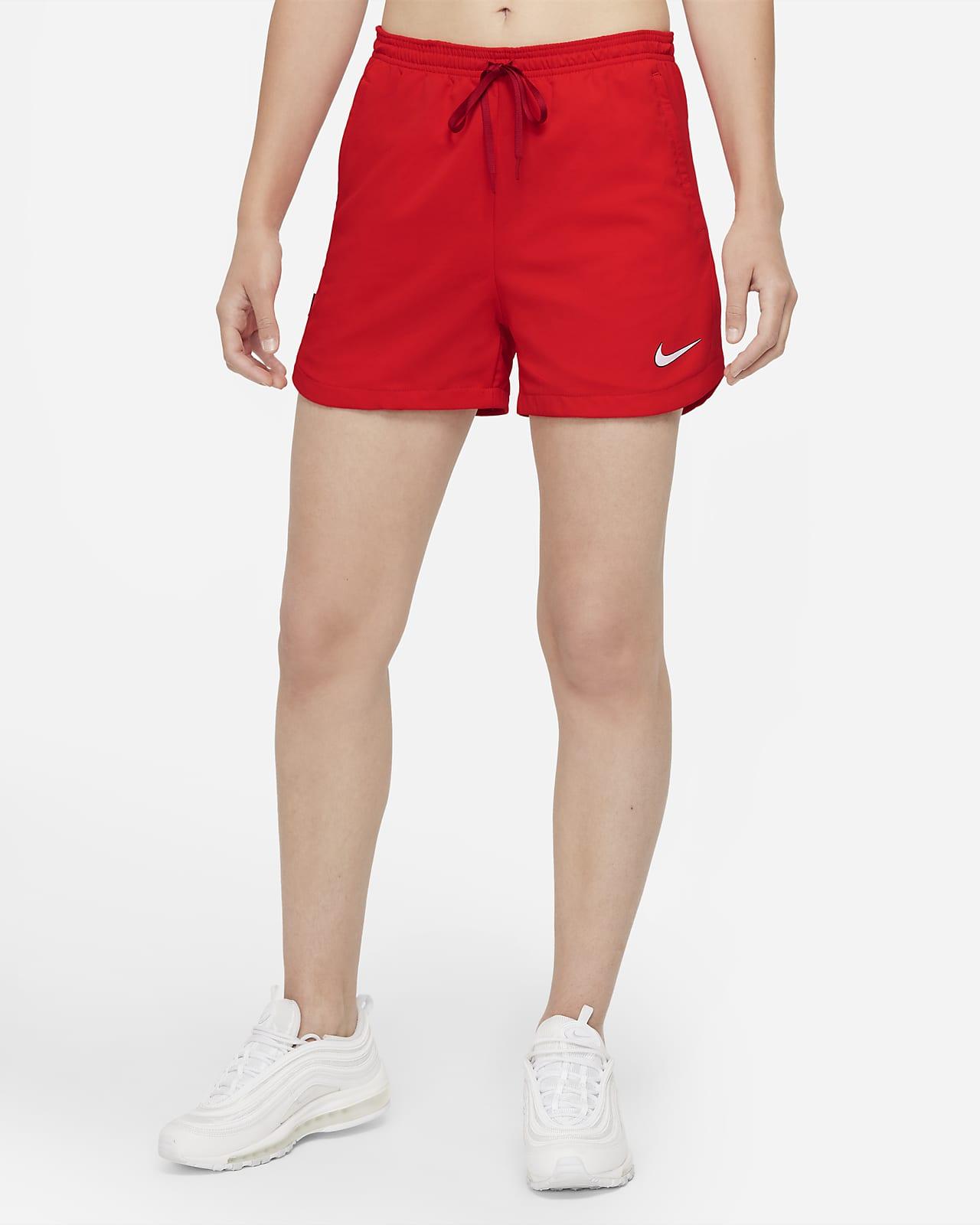 Nike F.C. Dri-FIT Geweven voetbalshorts voor dames