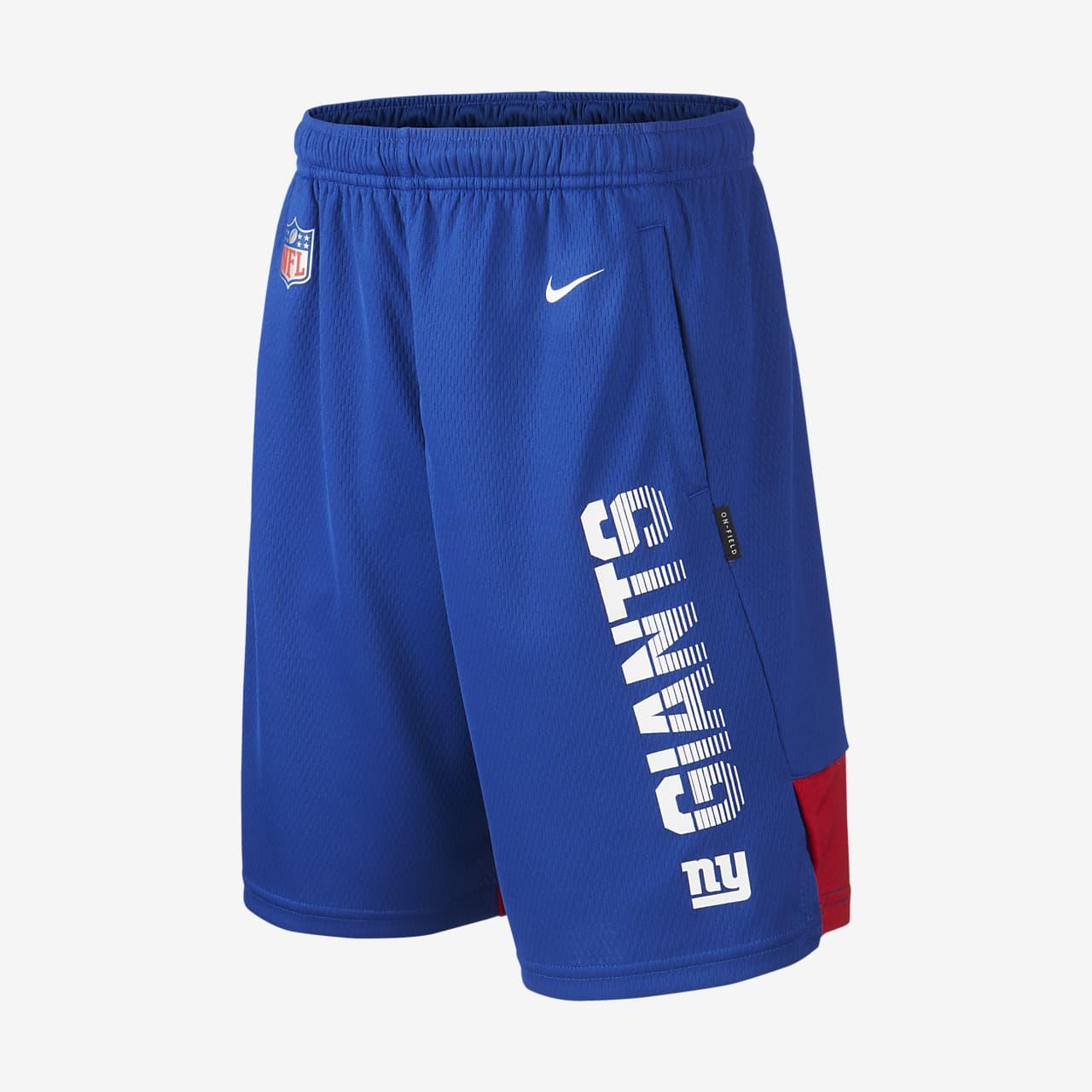 Short Nike (NFL Giants) pour Enfant plus âgé