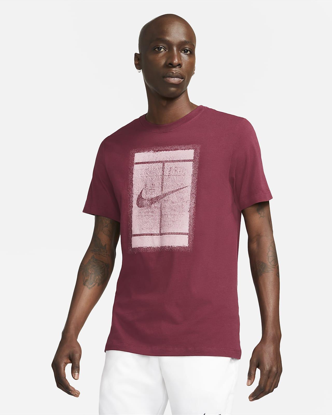 NikeCourt Tennisshirt met seizoensstijl voor heren