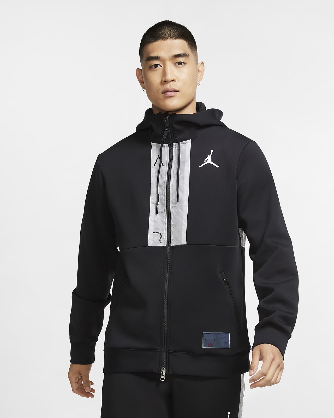 Jordan Air Men's Fleece Full-Zip Hoodie