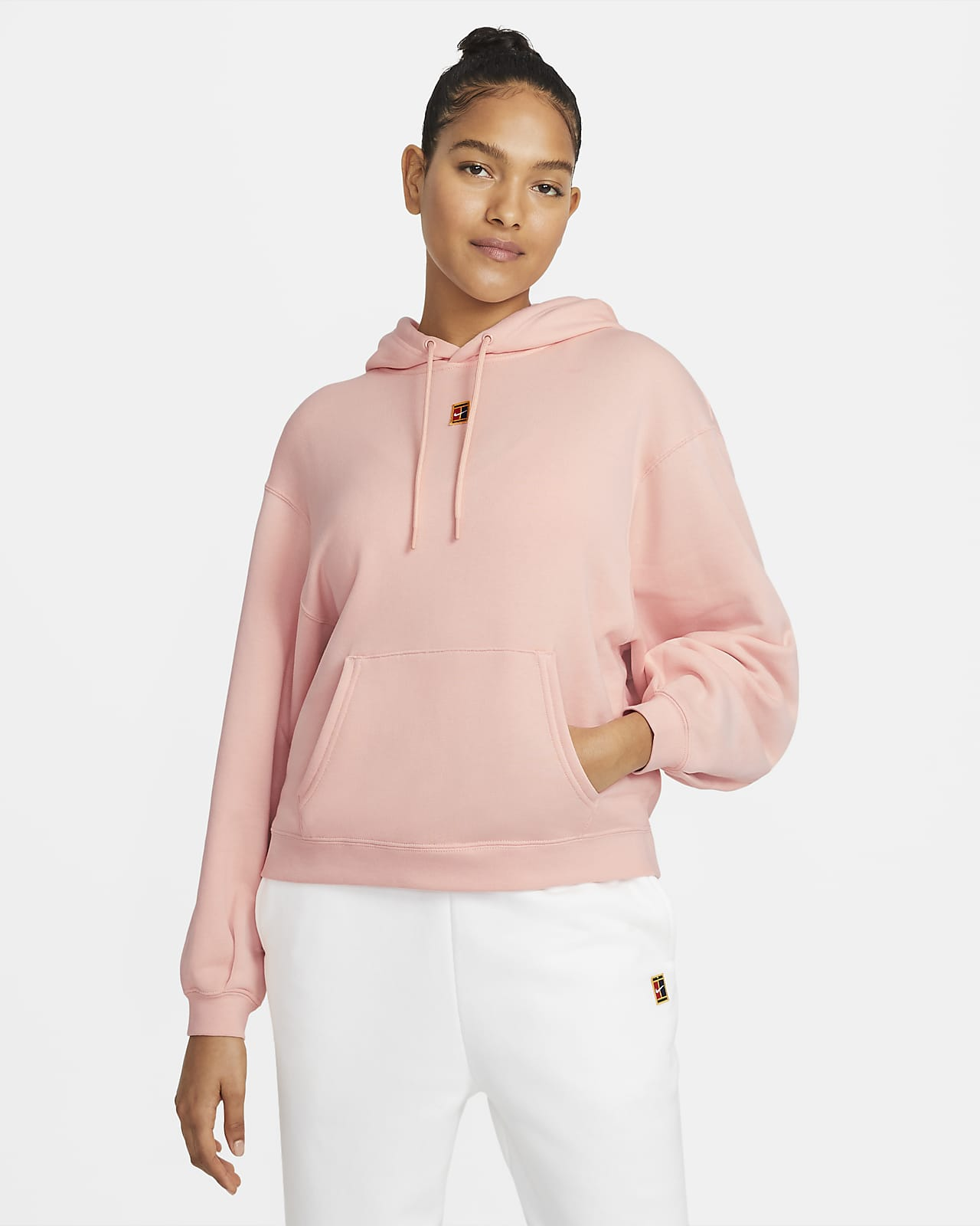 NikeCourt Fleece-Tennis-Hoodie für Damen