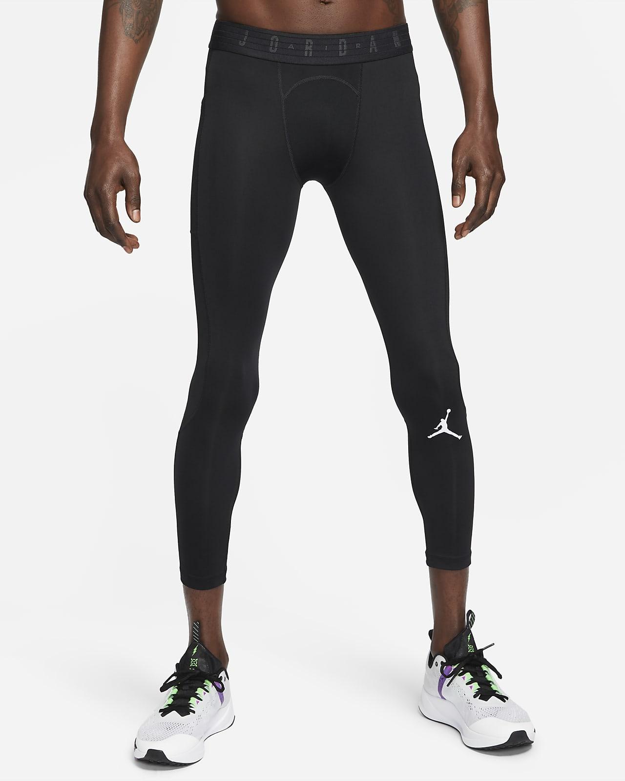 กางเกงรัดรูปยาว 3/4 ส่วนผู้ชาย Jordan Dri-FIT Air