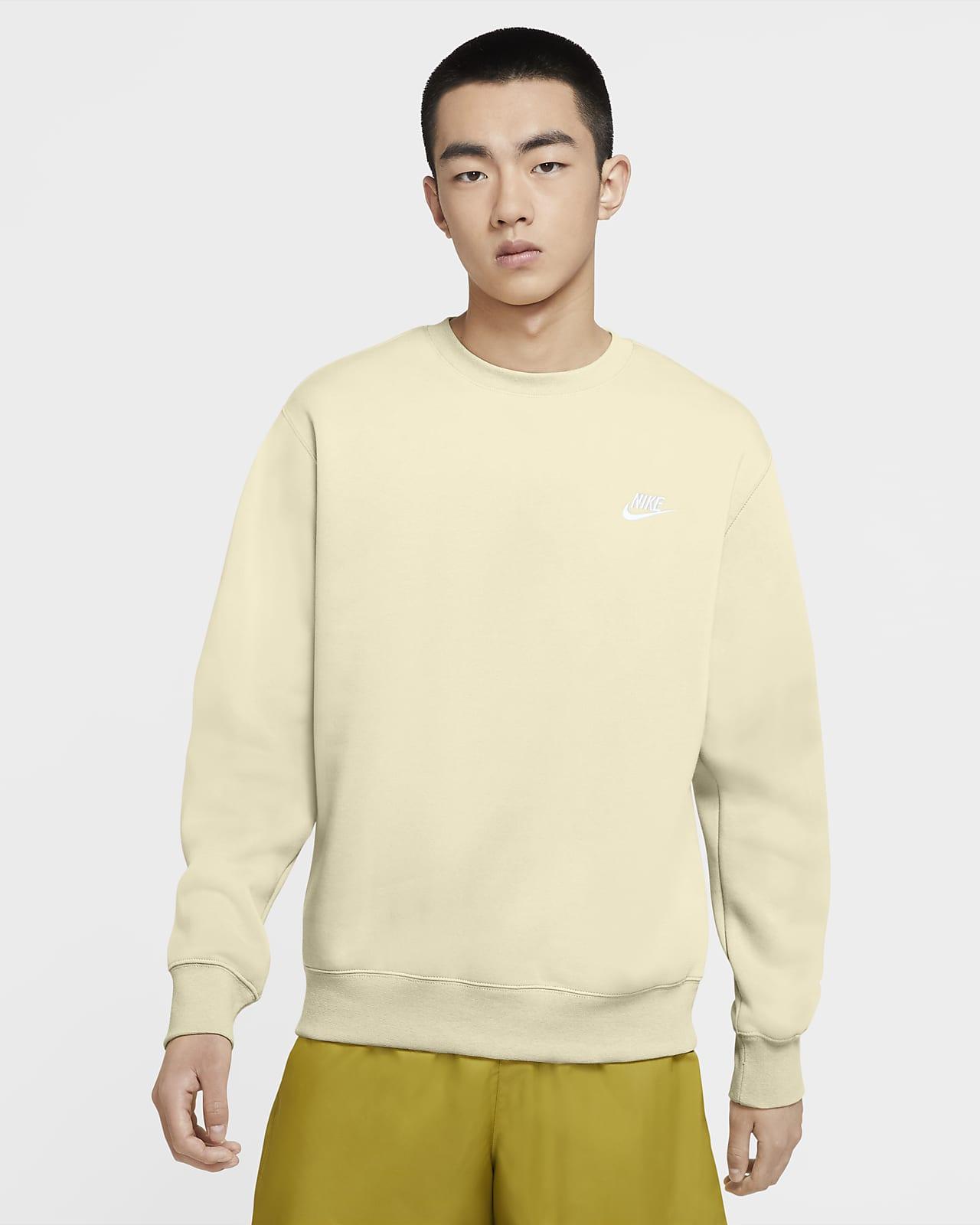 Mikina Nike Sportswear Club Fleece skulatým výstřihem