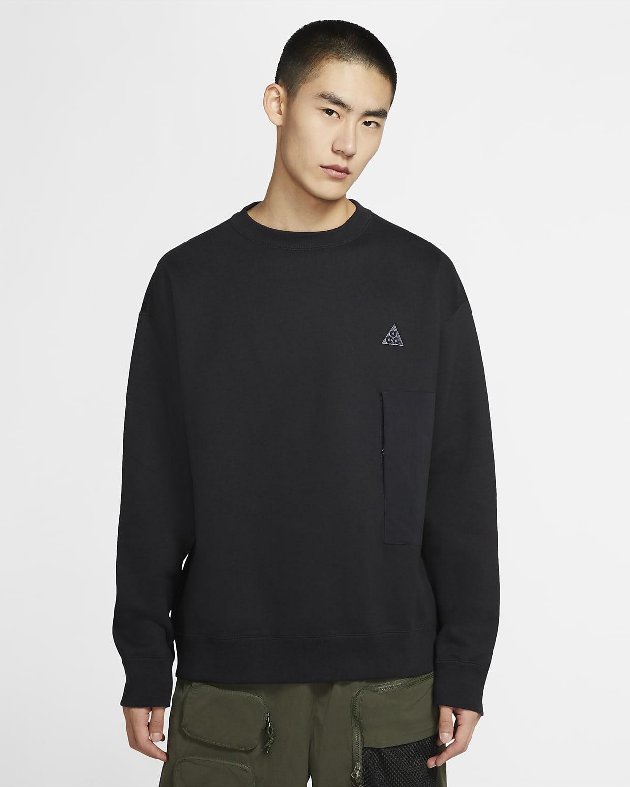 Sudadera de cuello redondo de tejido Fleece para hombre Nike ACG