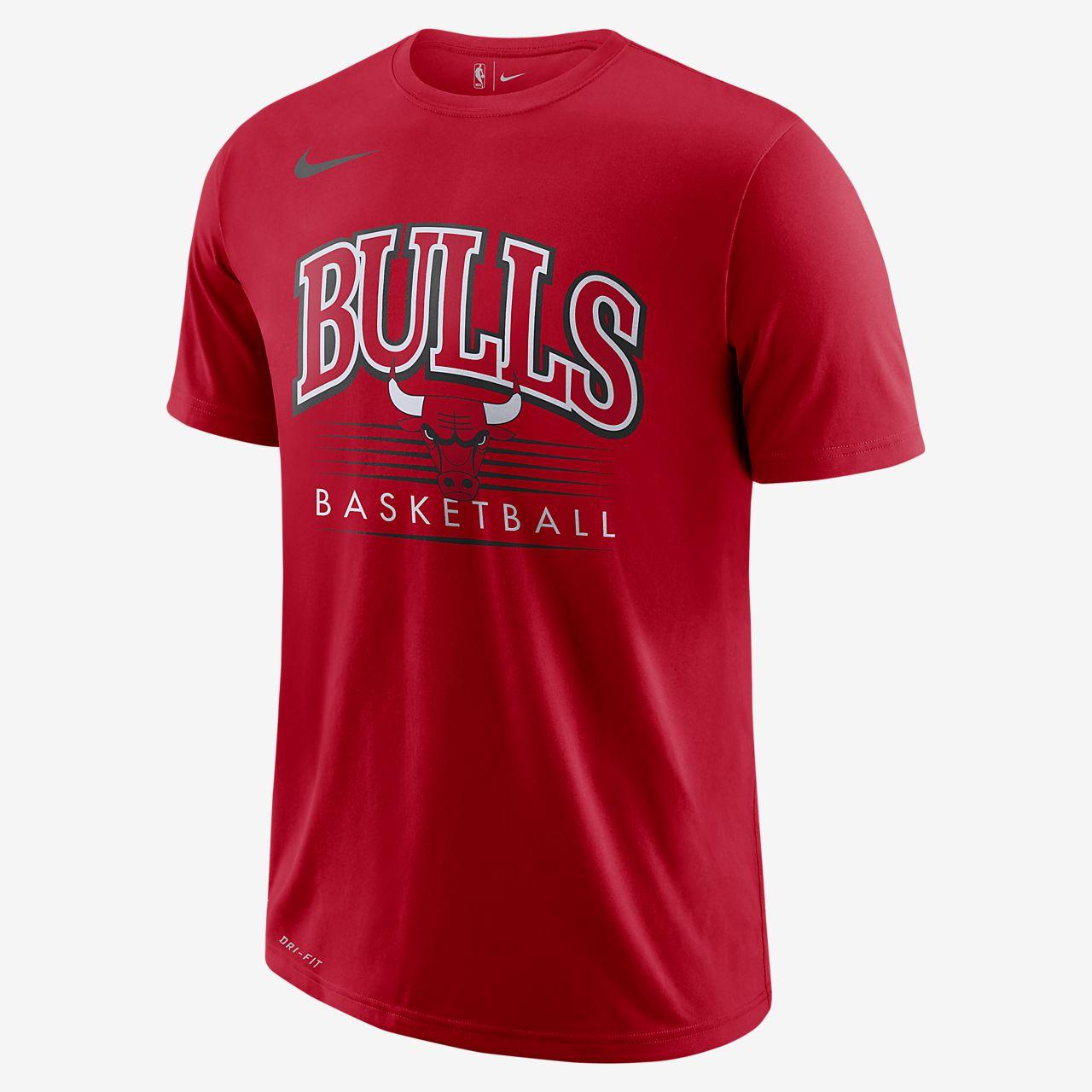 Playera de la NBA para hombre Chicago Bulls Nike Dri-FIT