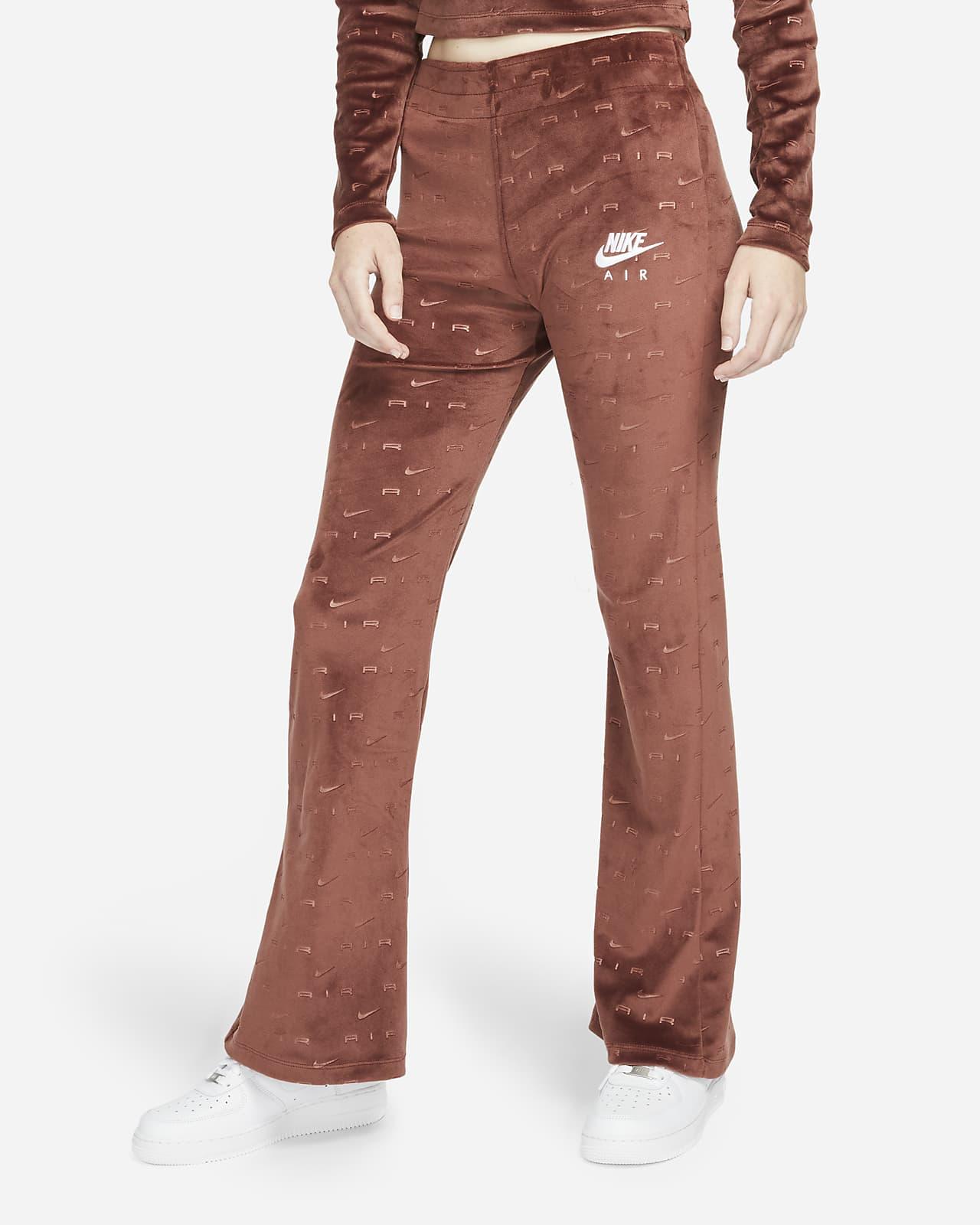 Nike Air Women's Velour Mid-Rise Pants