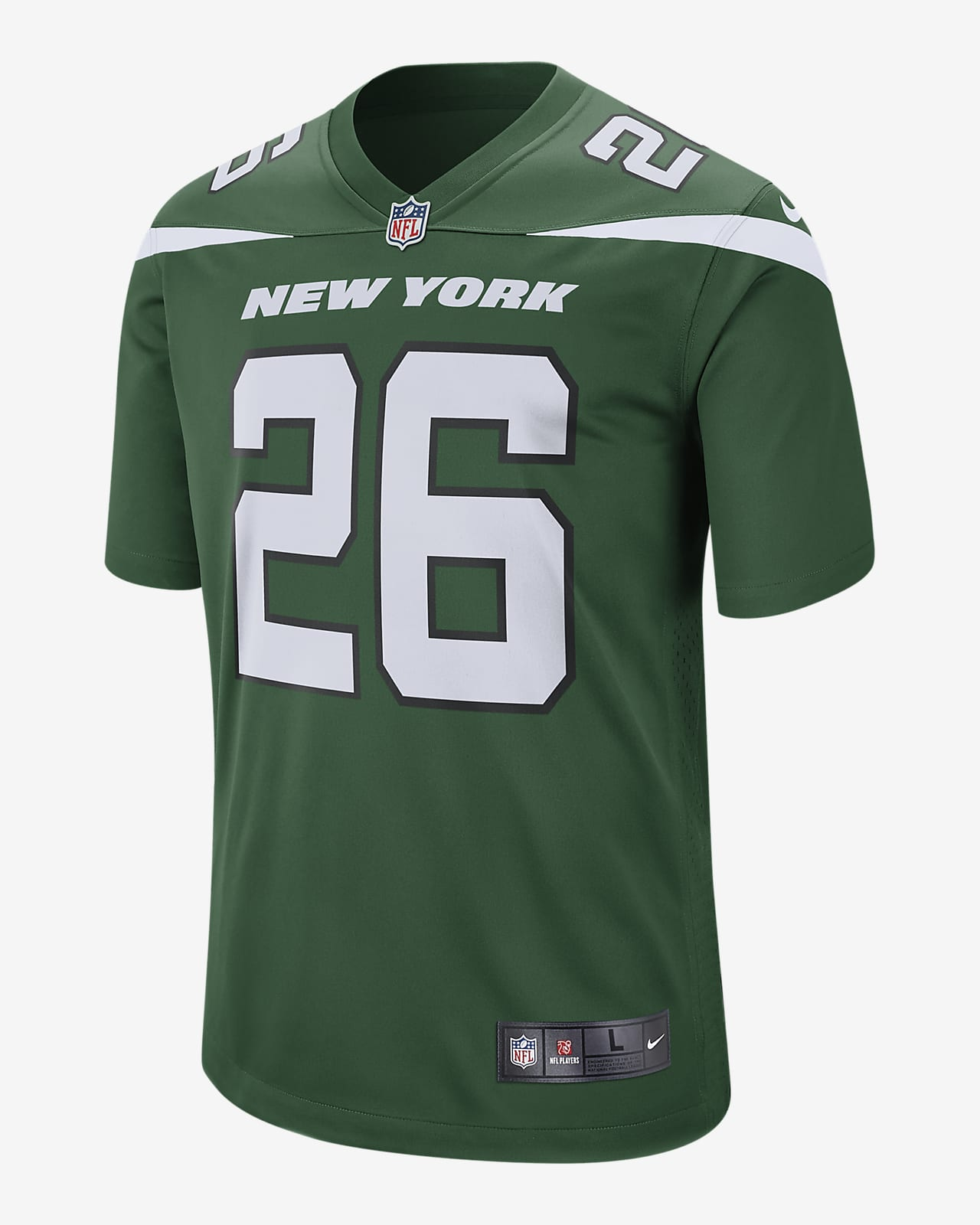 NFL New York Jets (Le'Veon Bell) Men's Game American Football Jersey