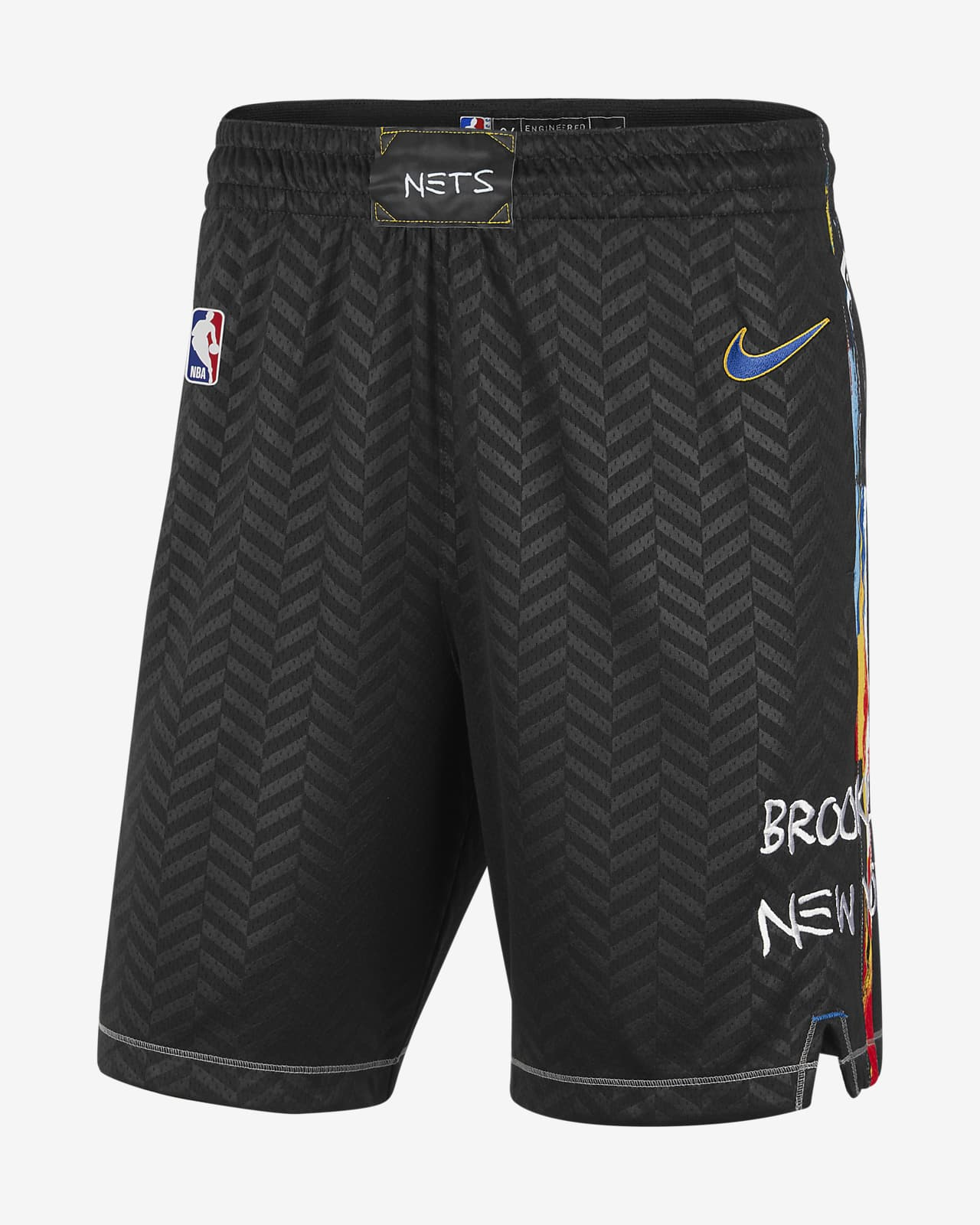 Short Nike NBA Swingman Brooklyn Nets City Edition 2020 pour Homme