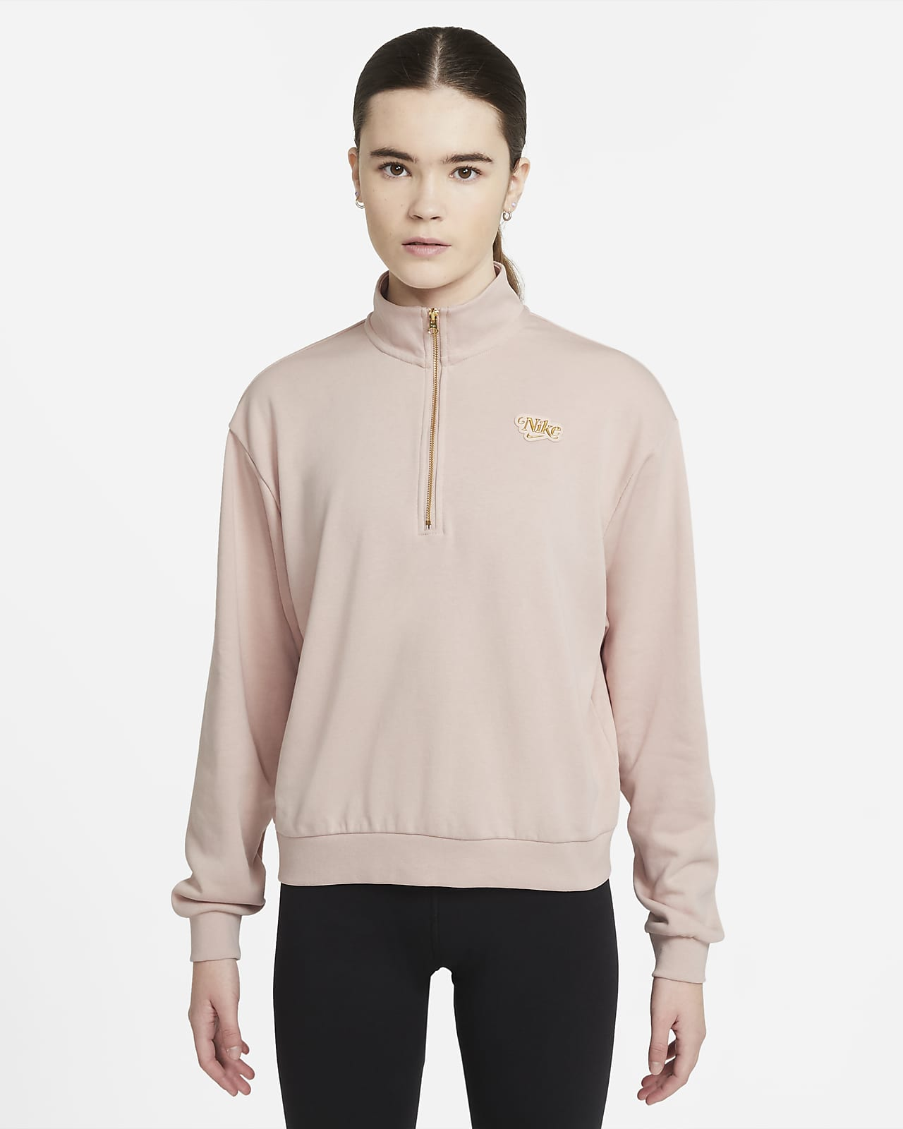 Camisola com fecho a 1/4 Nike Sportswear Femme para mulher