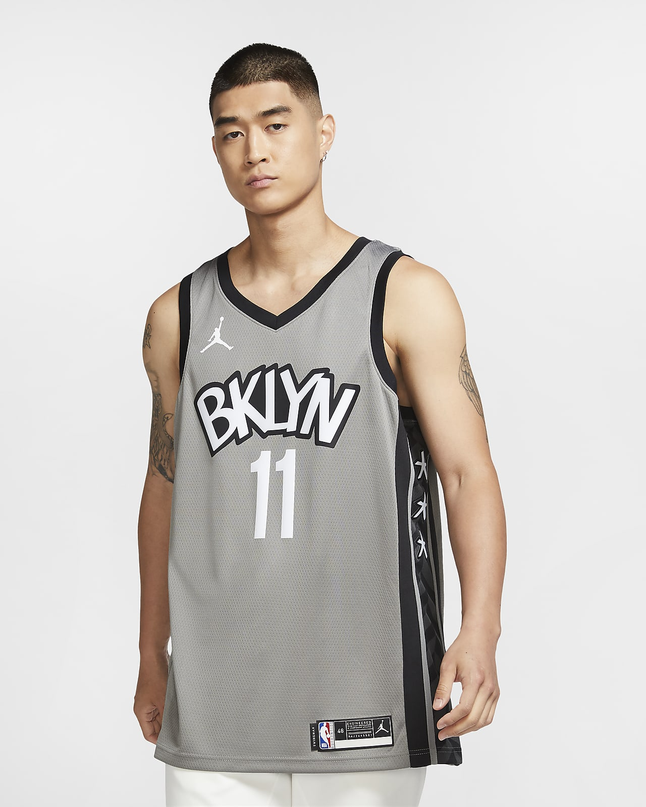 Camisola NBA da Jordan Swingman Kyrie Irving Nets Statement Edition 2020