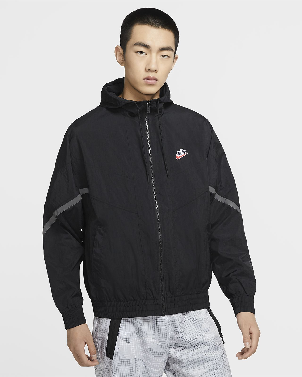 Chamarra con capucha para hombre Nike Sportswear Windrunner+