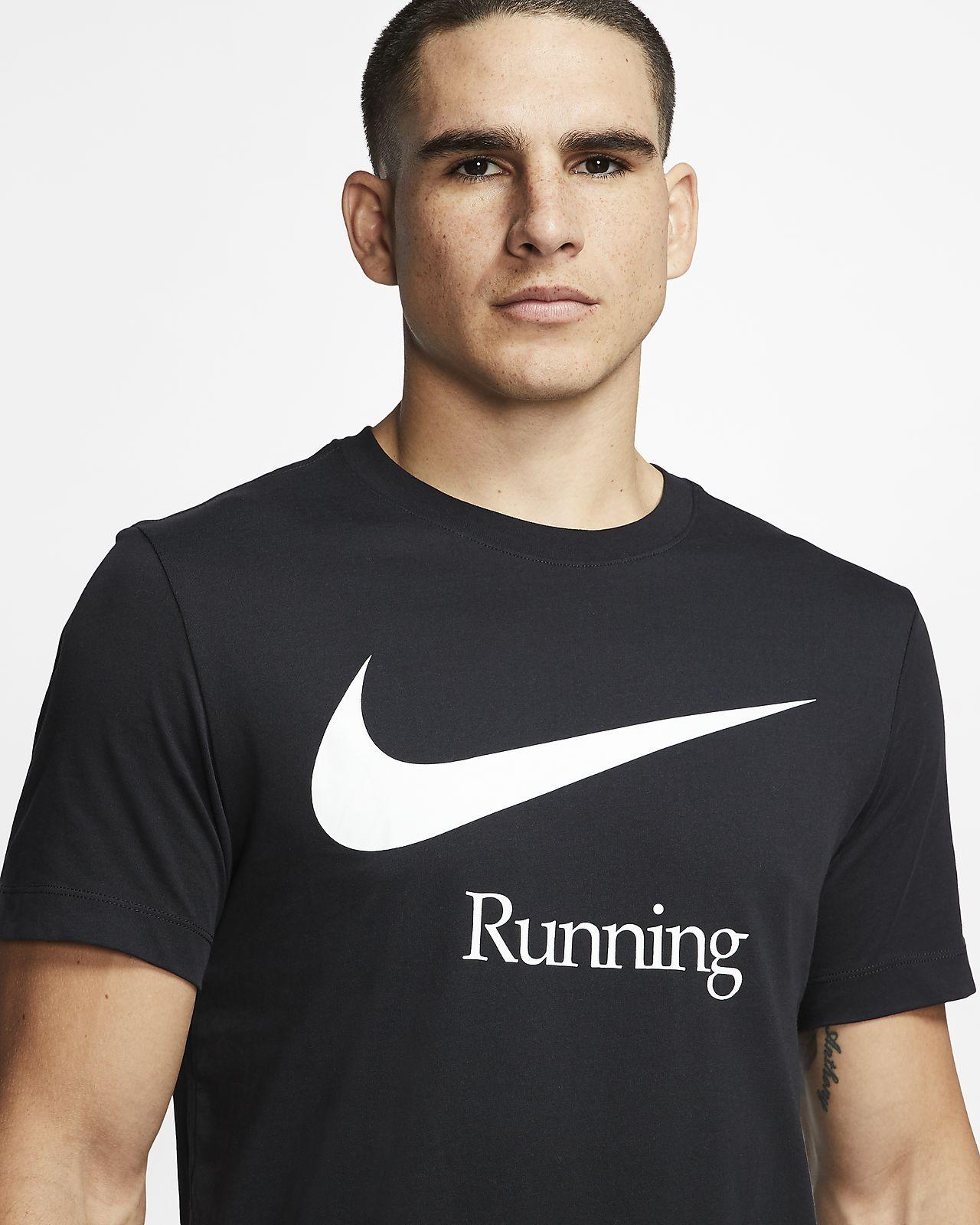 Tee shirt de running Nike Dri FIT pour Homme