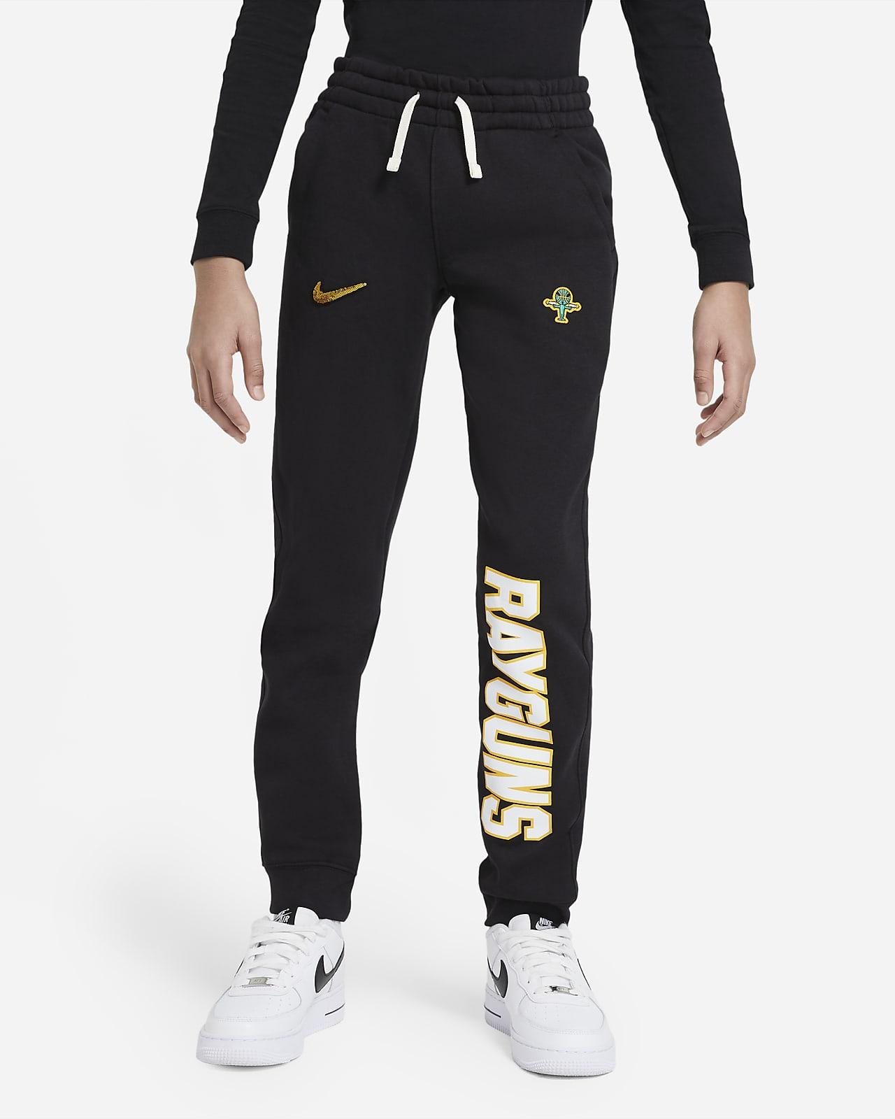 Pantalones de entrenamiento para niños talla grande Nike Sportswear Club Fleece