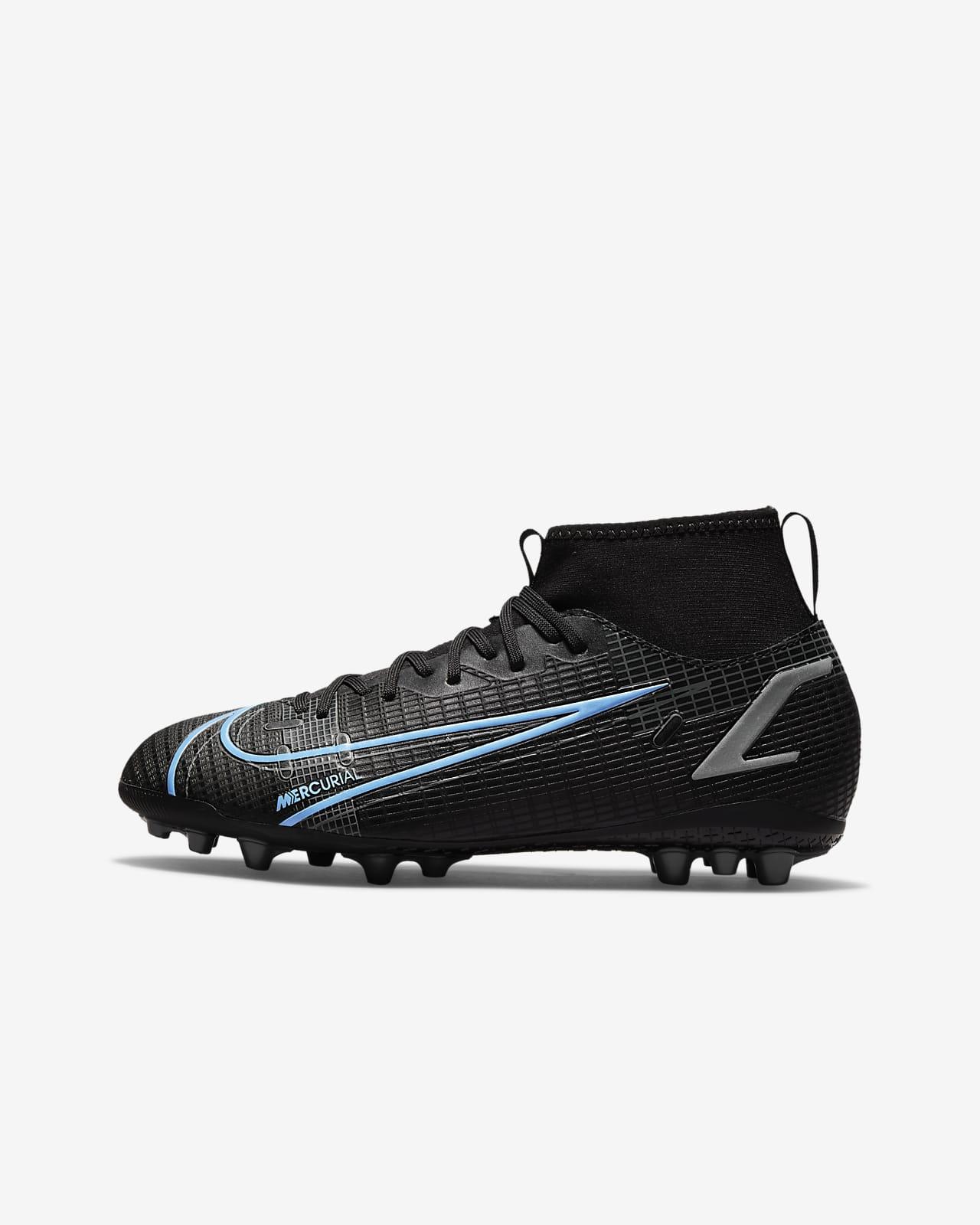 Nike Jr. Mercurial Superfly 8 Academy AG Botes de futbol per a gespa artificial - Nen/a i nen/a petit/a