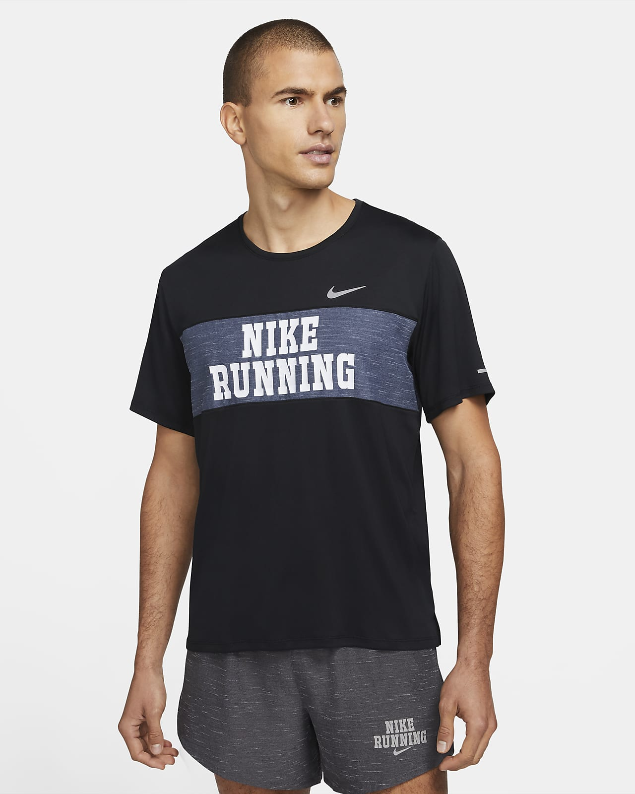 Nike Dri-FIT Miler Heritage Men's Short-Sleeve Running Top