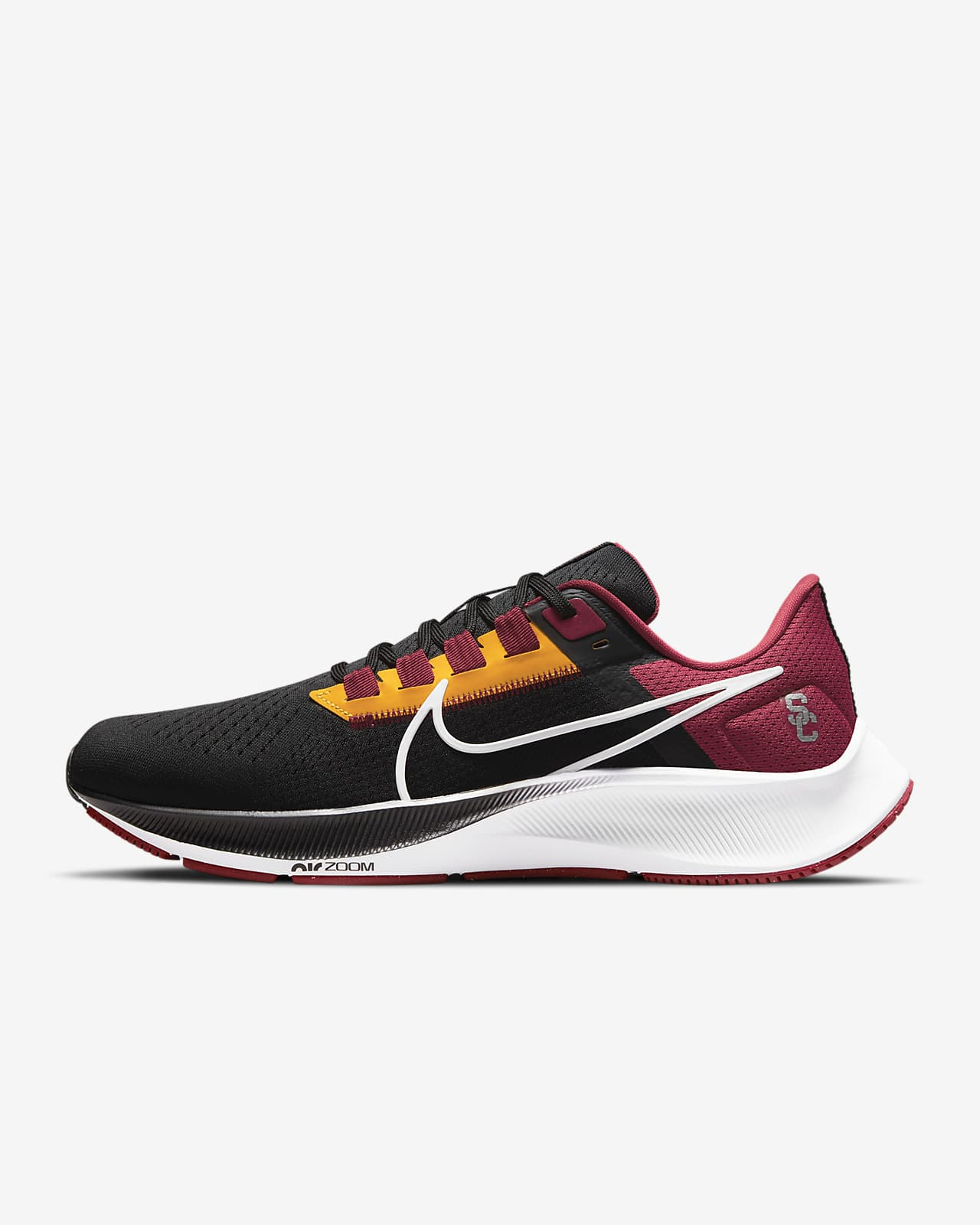 Nike College Air Zoom Pegasus 38 (USC) Running Shoe
