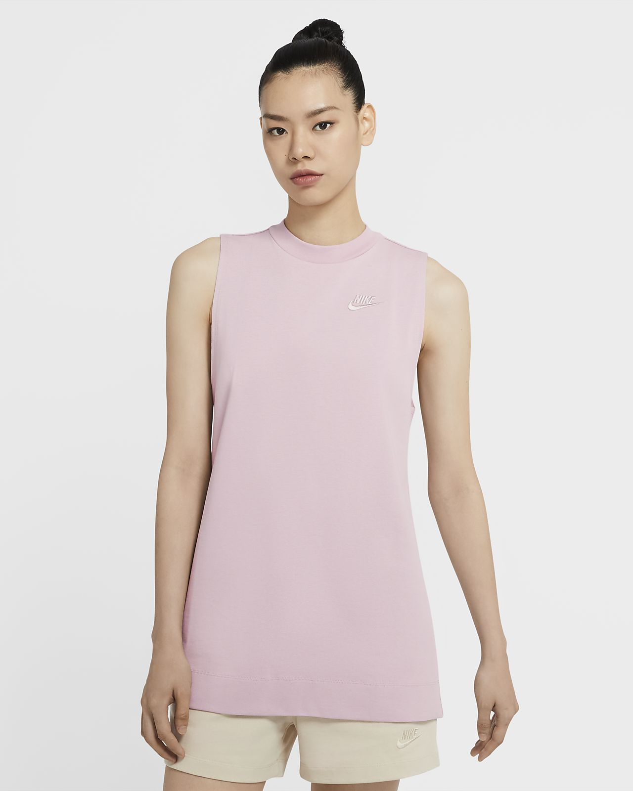 Nike Sportswear tunika i jersey til dame