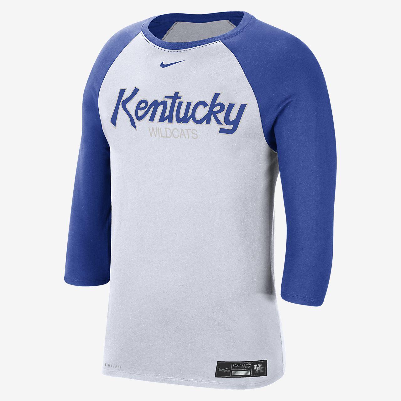 Nike College Dri-FIT (Kentucky) Men's 3/4-Sleeve T-Shirt