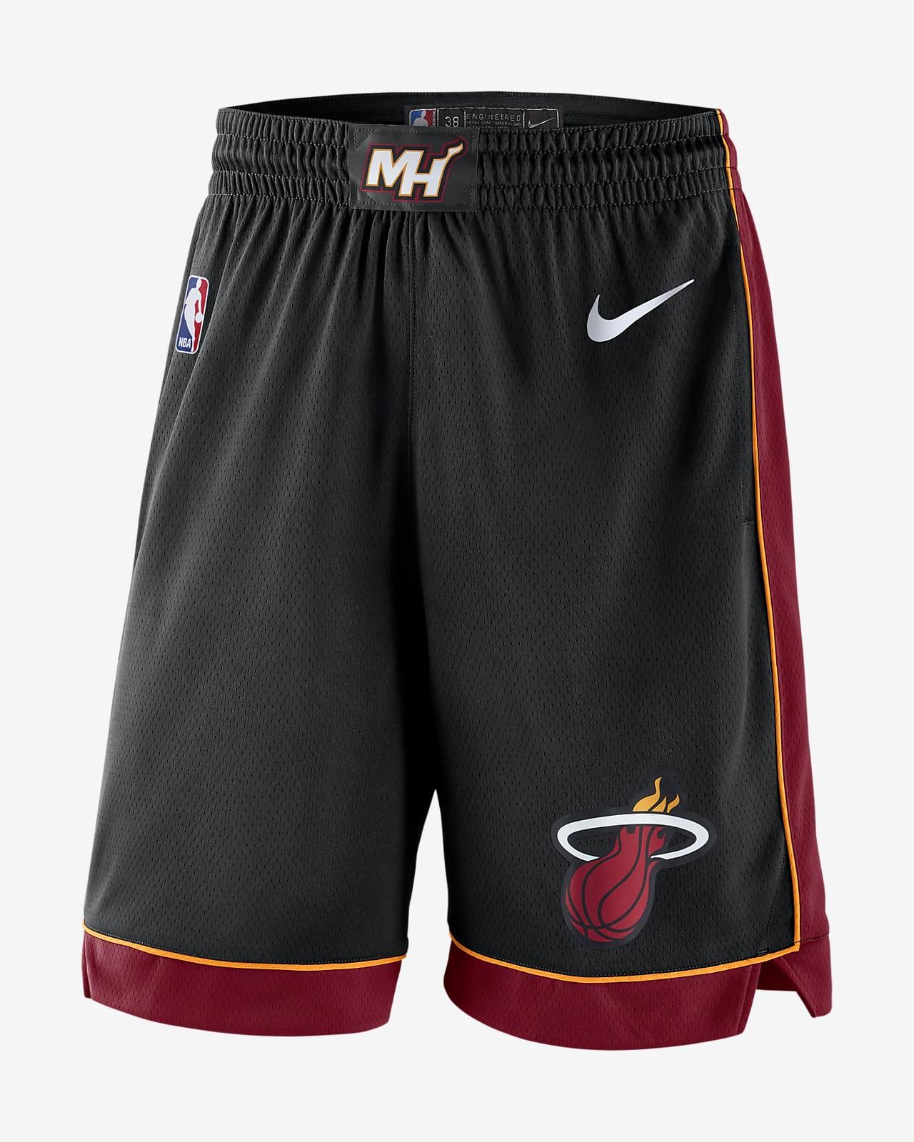 Miami Heat Icon Edition Nike NBA Swingman Shorts für Herren