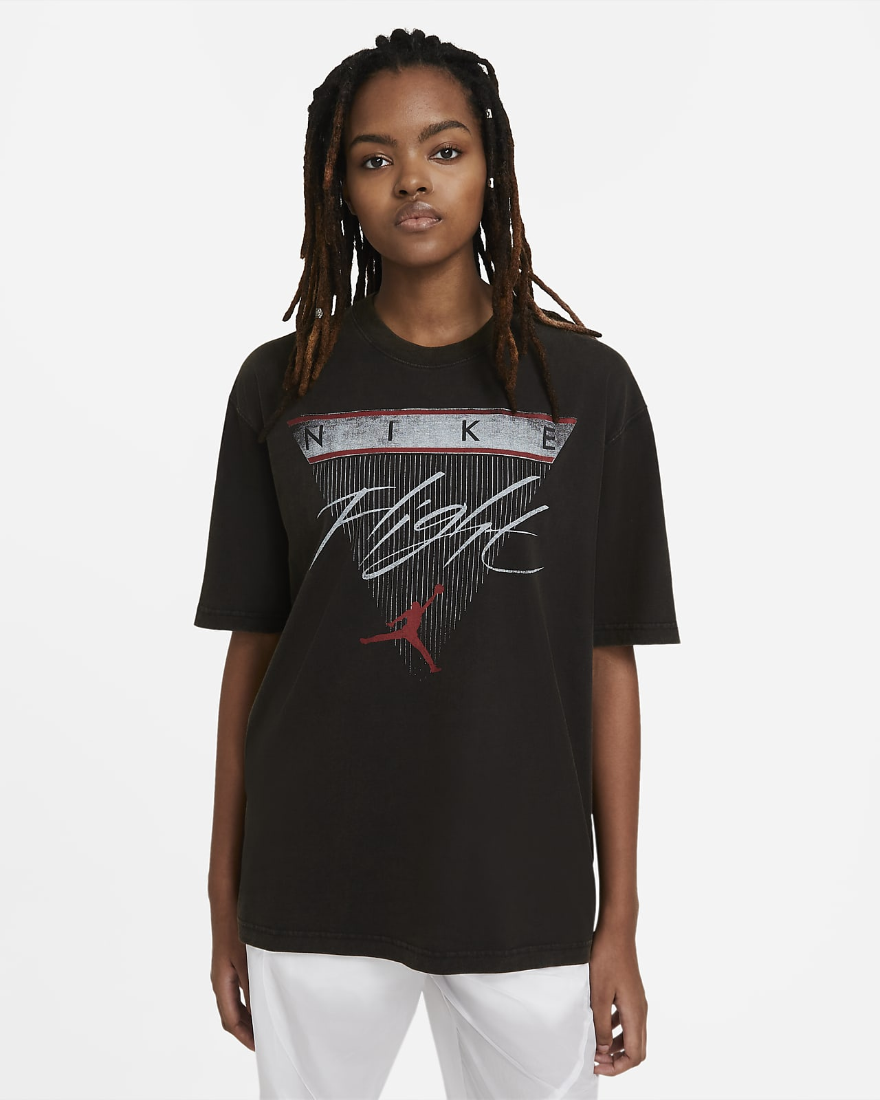 Jordan Flight Damen-Kurzarm-T-Shirt