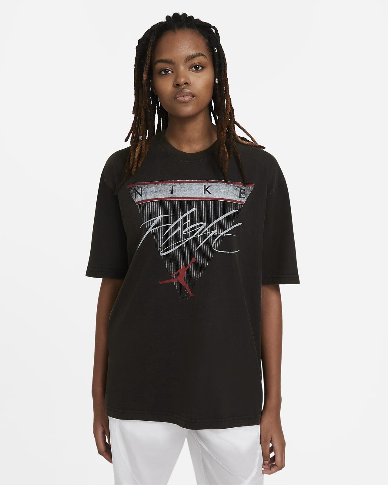 Tee-shirt à manches courtes Jordan Flight pour Femme