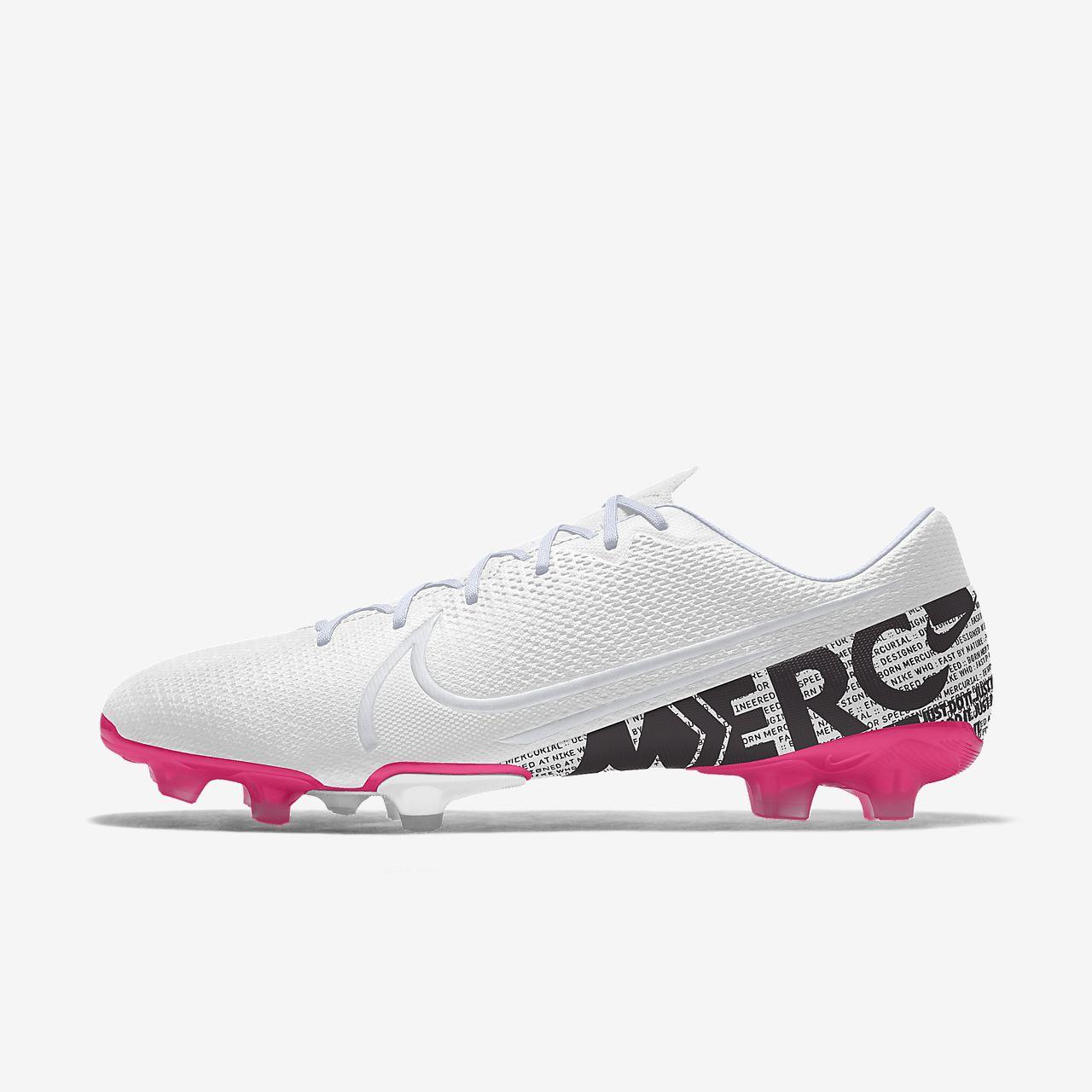 Scarpa da calcio per terreni duri personalizzabile Nike Mercurial Vapor 13 Academy FG By You