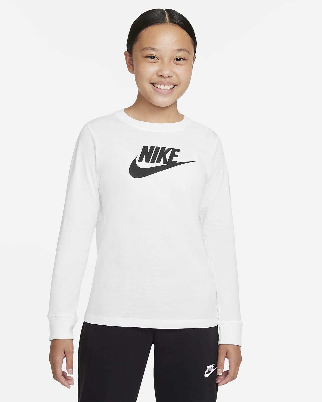 Μακρυμάνικο T-Shirt Nike Sportswear για μεγάλα κορίτσια