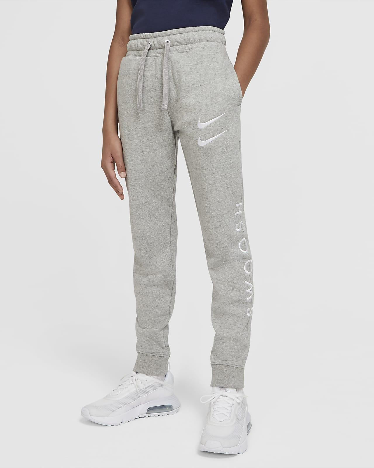 Nike Sportswear Swoosh-bukser til store børn (drenge)