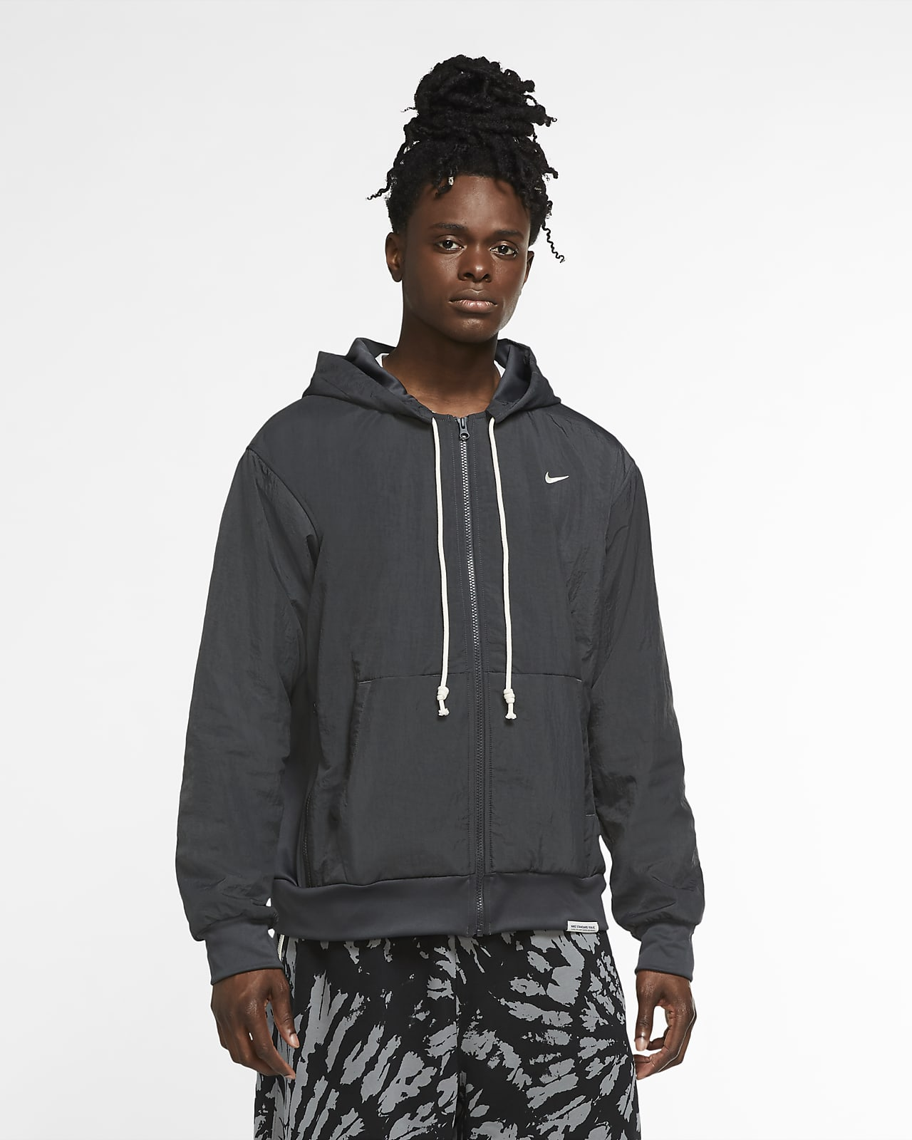 Nike Standard Issue Winterized Men's Basketball Hoodie