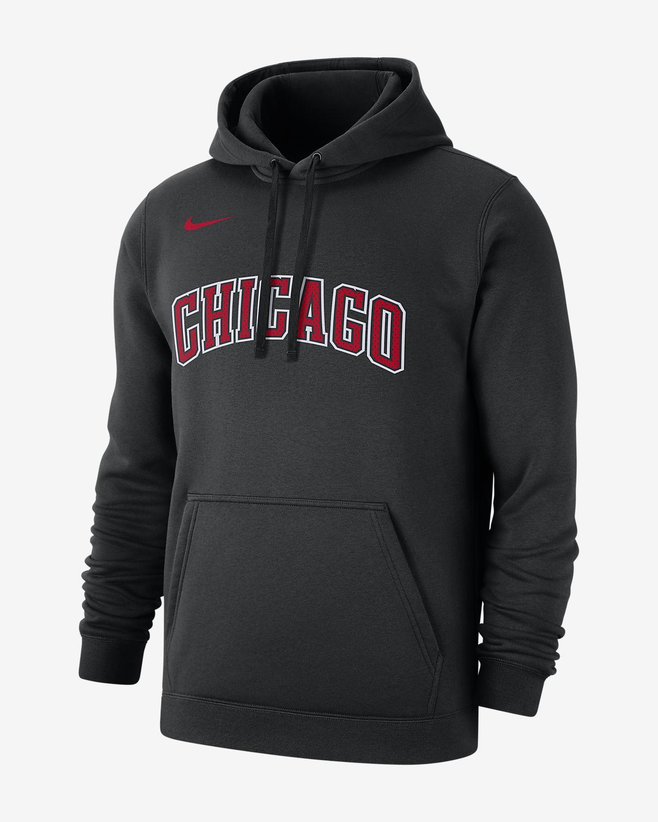 Chicago Bulls Logo Men's Nike NBA Hoodie