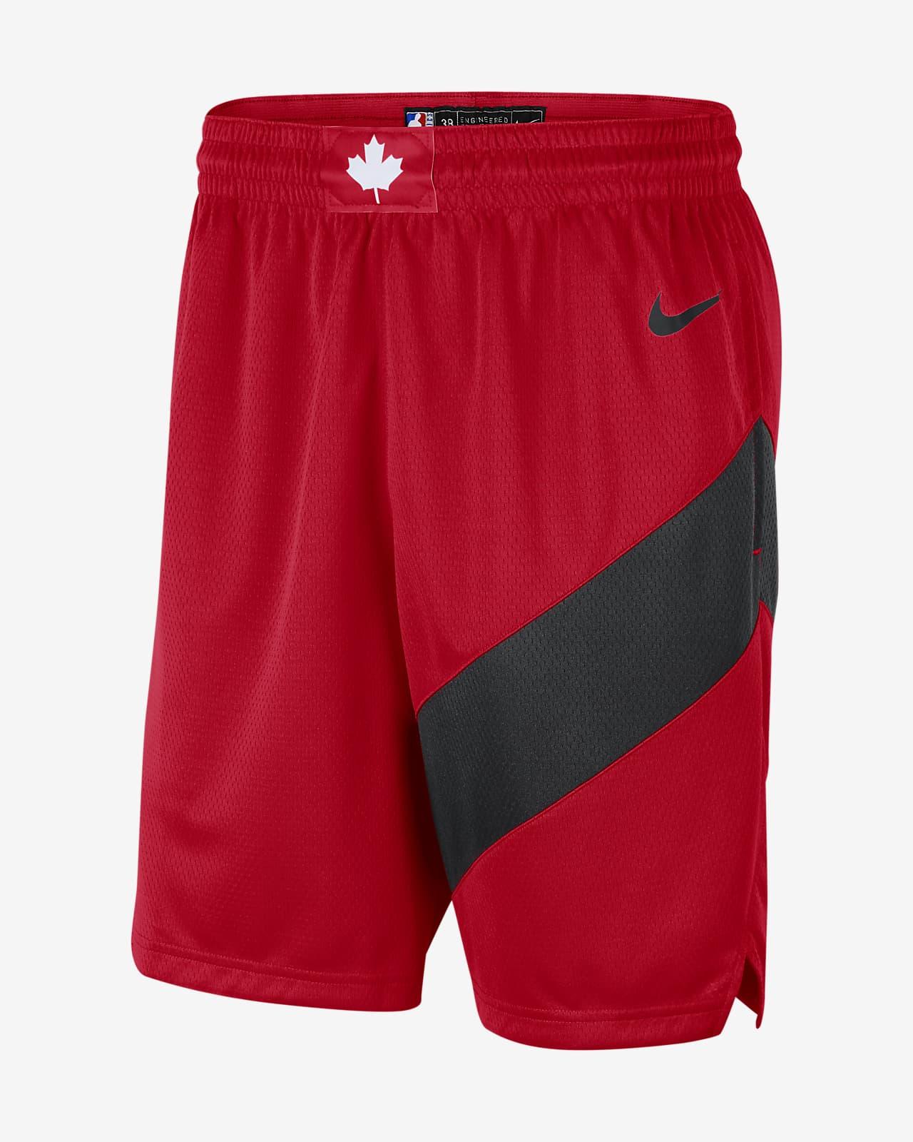 Raptors Icon Edition 2020 Men's Nike NBA Swingman Shorts