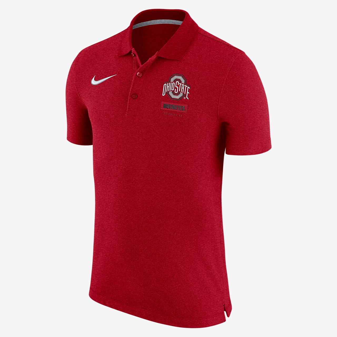 Nike College (Ohio State) Men's Polo